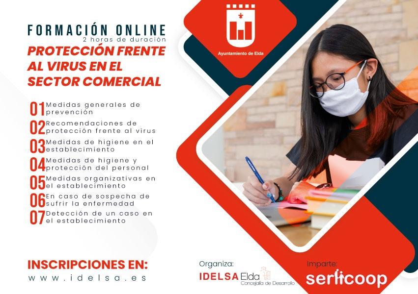 Idelsa ofrece un nuevo curso online sobre medidas de higiene y seguridad frente al coronavirus dirigido a academias, centros educativos, deportivos, de ocio y cultura
