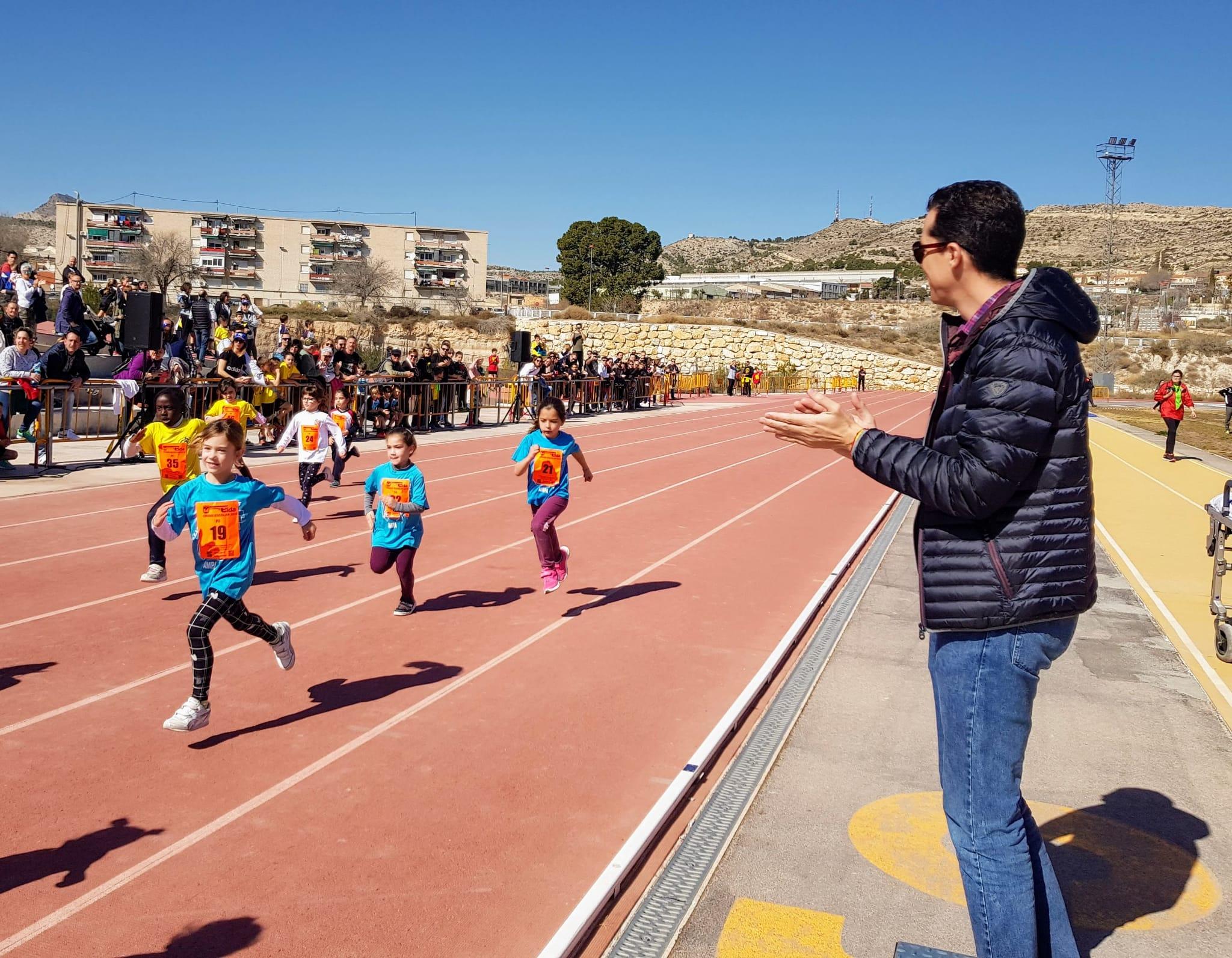 Elda clausura de manera simbólica la fase local de los Juegos Deportivos de la Comunidad Valenciana