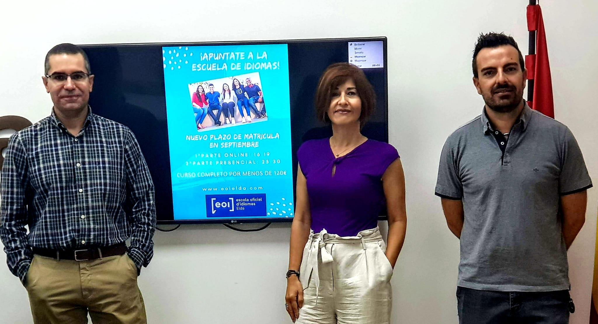 La Escuela Oficial de Idiomas de Elda abre el proceso de matriculación para el próximo curso