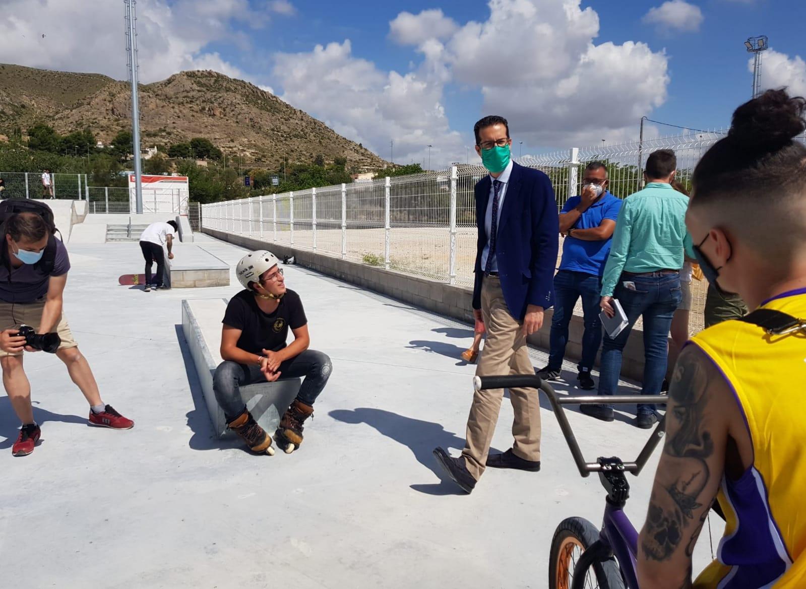 Elda pone en marcha a partir de hoy uno de los mejores Skate Park de la Comunidad Valenciana