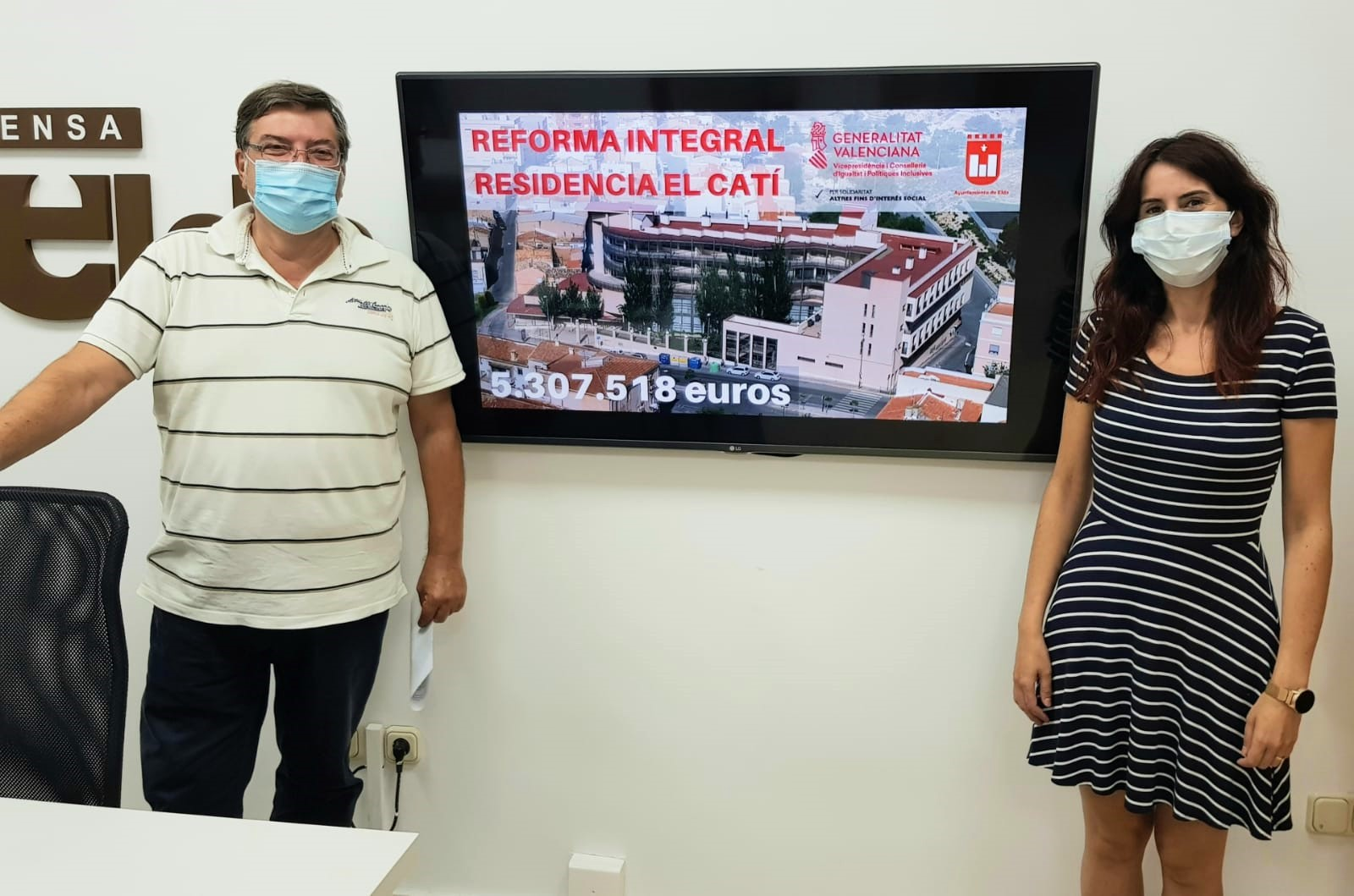 Los trabajos de reforma de la Residencia de Mayores El Catí comenzarán a finales de agosto tras solicitar la empresa adjudicataria la licencia de obras al Ayuntamiento de Elda