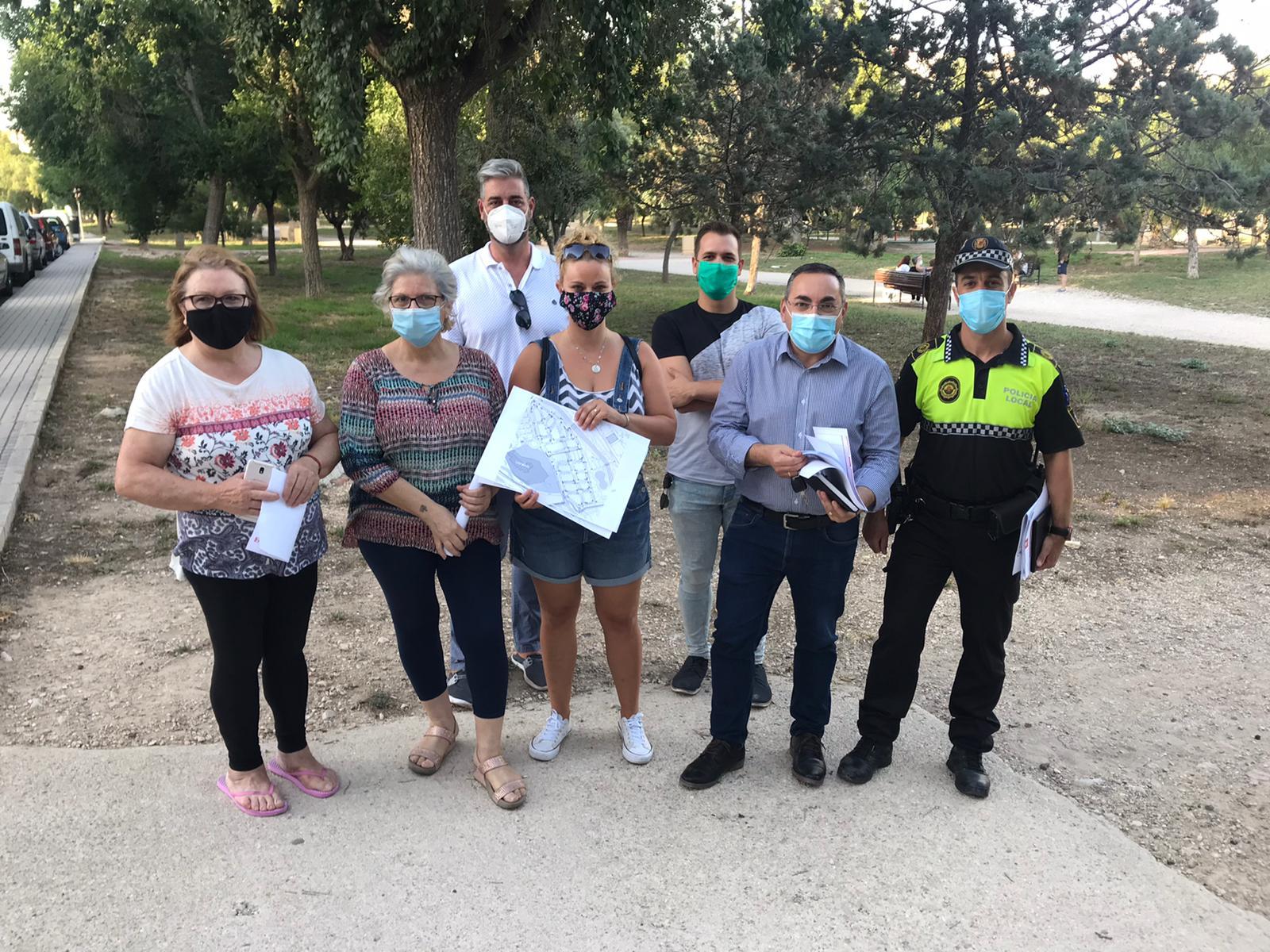 El Ayuntamiento de Elda reordenará la circulación de vehículos en el barrio de Molinos de Félix