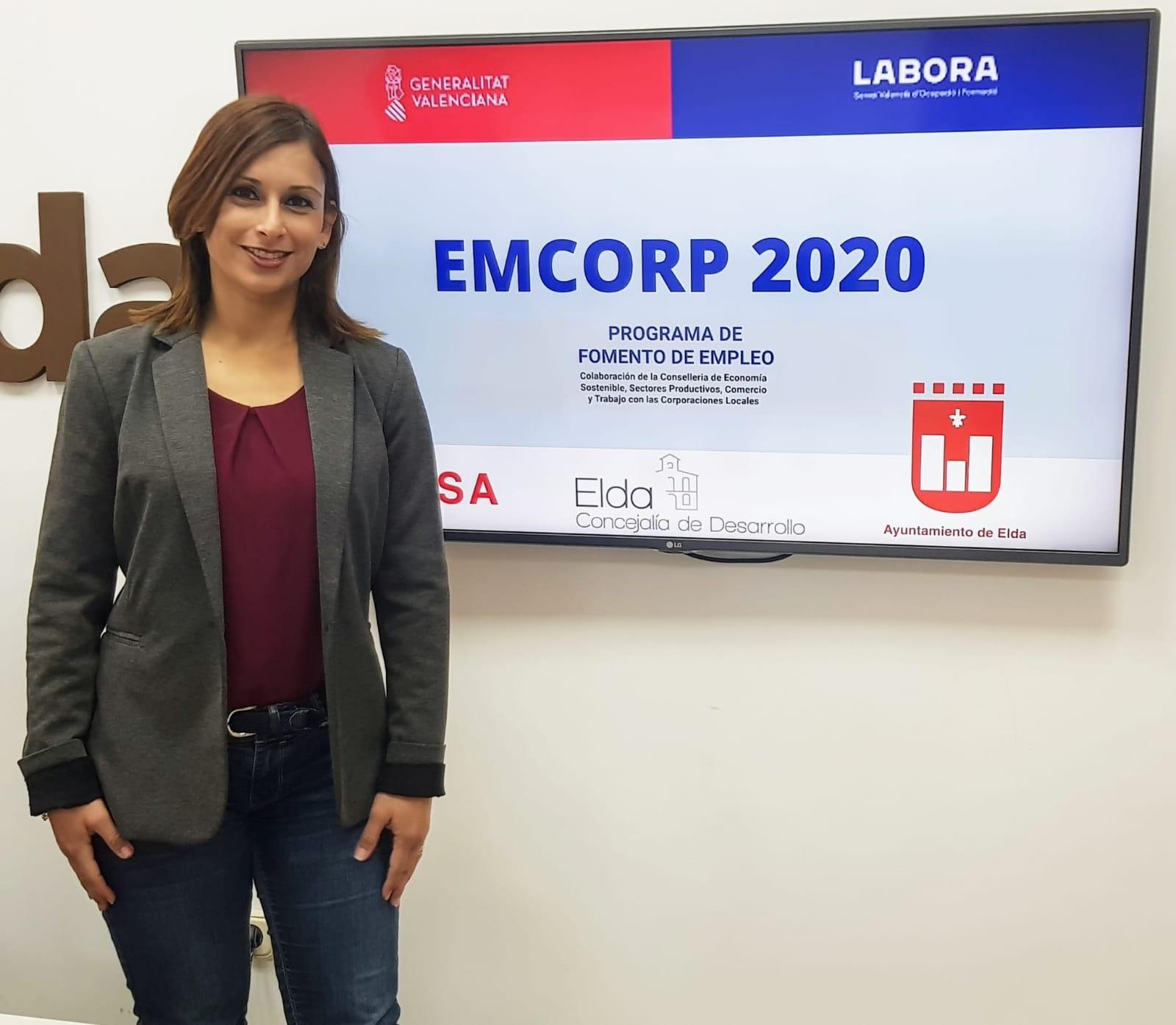 El Ayuntamiento de Elda da a conocer los perfiles laborales de las 15 personas que podrá contratar durante seis meses con los fondos Emcorp 2020 de la Generalitat