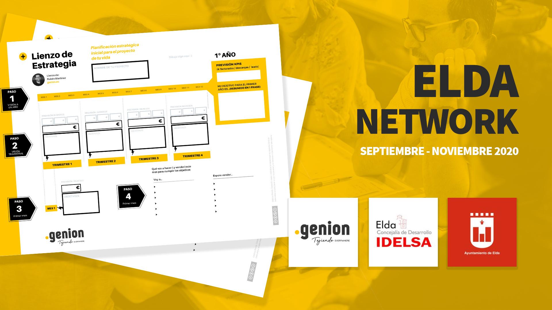 Idelsa impulsa la comunidad online formativa Elda Network para emprendedores