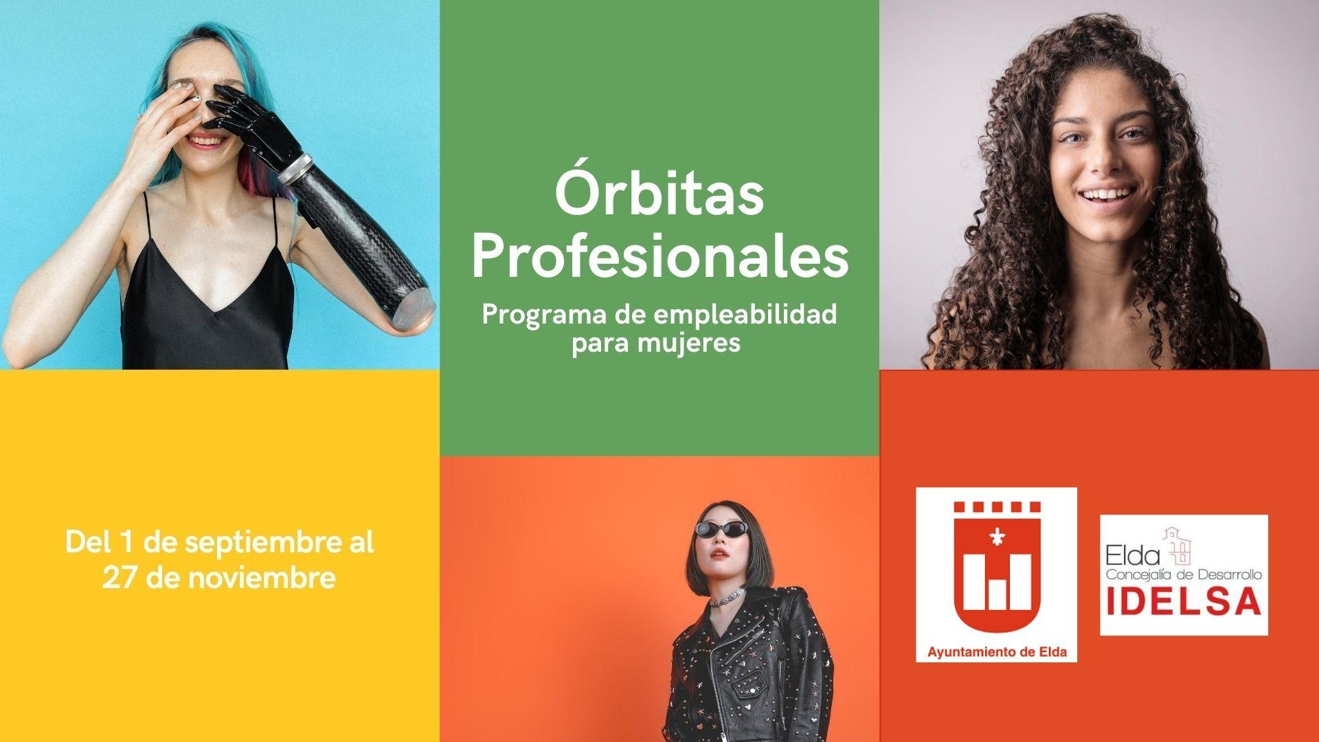 El Ayuntamiento de Elda impulsa el programa 'Órbitas Profesionales' para fomentar el empleo de mujeres en riesgo de exclusión