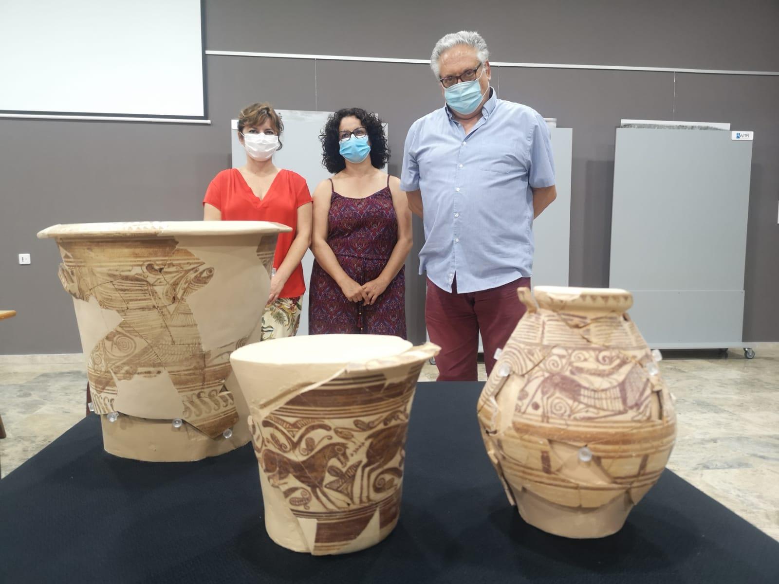 El Museo Arqueológico de Elda restaura ocho piezas arquelógicas del Yacimiento Arqueológico de El Monastil
