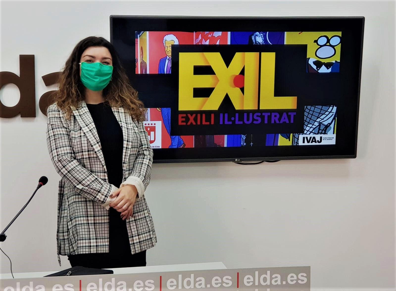 Juventud organiza en los Salones Princesa la exposición 'Exili il·lustrat' que reúne 36 retratos de personajes vinculados con el exilio