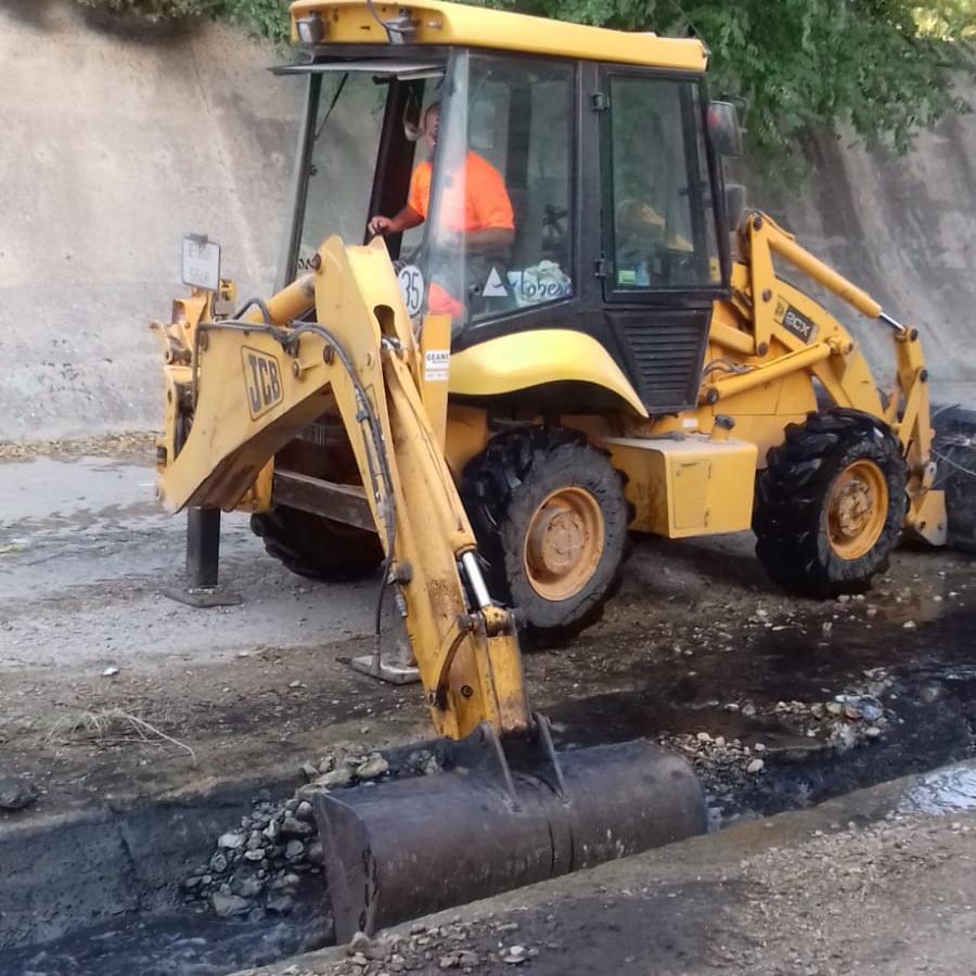 El Ayuntamiento de Elda acondiciona el cauce del río Vinalopó antes de que comience la temporada de lluvias torrenciales