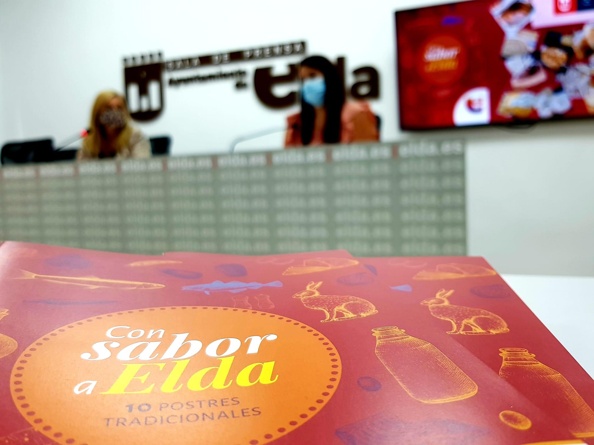 La Concejalía de Turismo presenta un nuevo libro de recetas con una selección de diez postres tradicionales