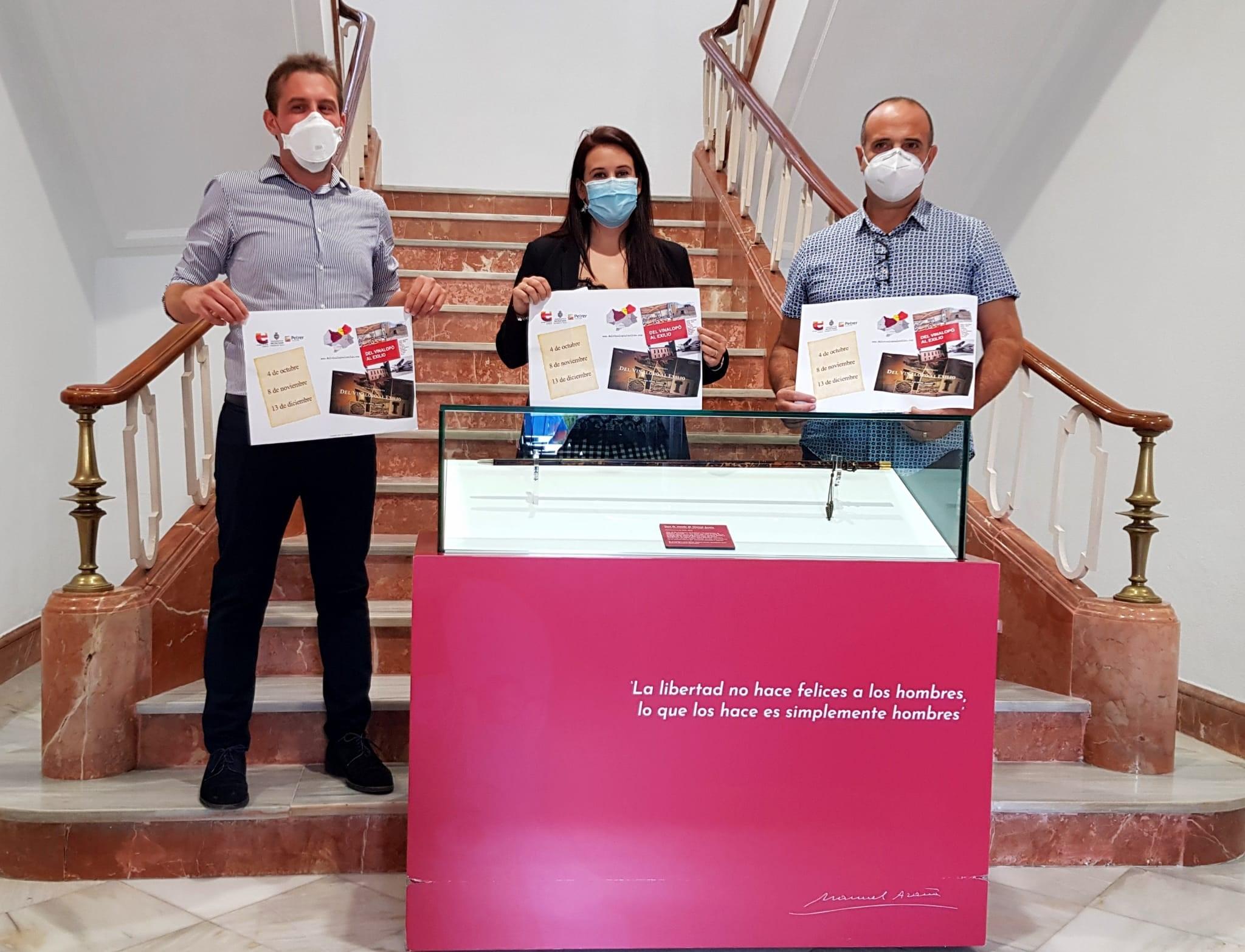 Elda, Petrer y Monóvar retoman en octubre la ruta 'Del Vinalopó al Exilio' con medidas de seguridad y limitación de asistentes