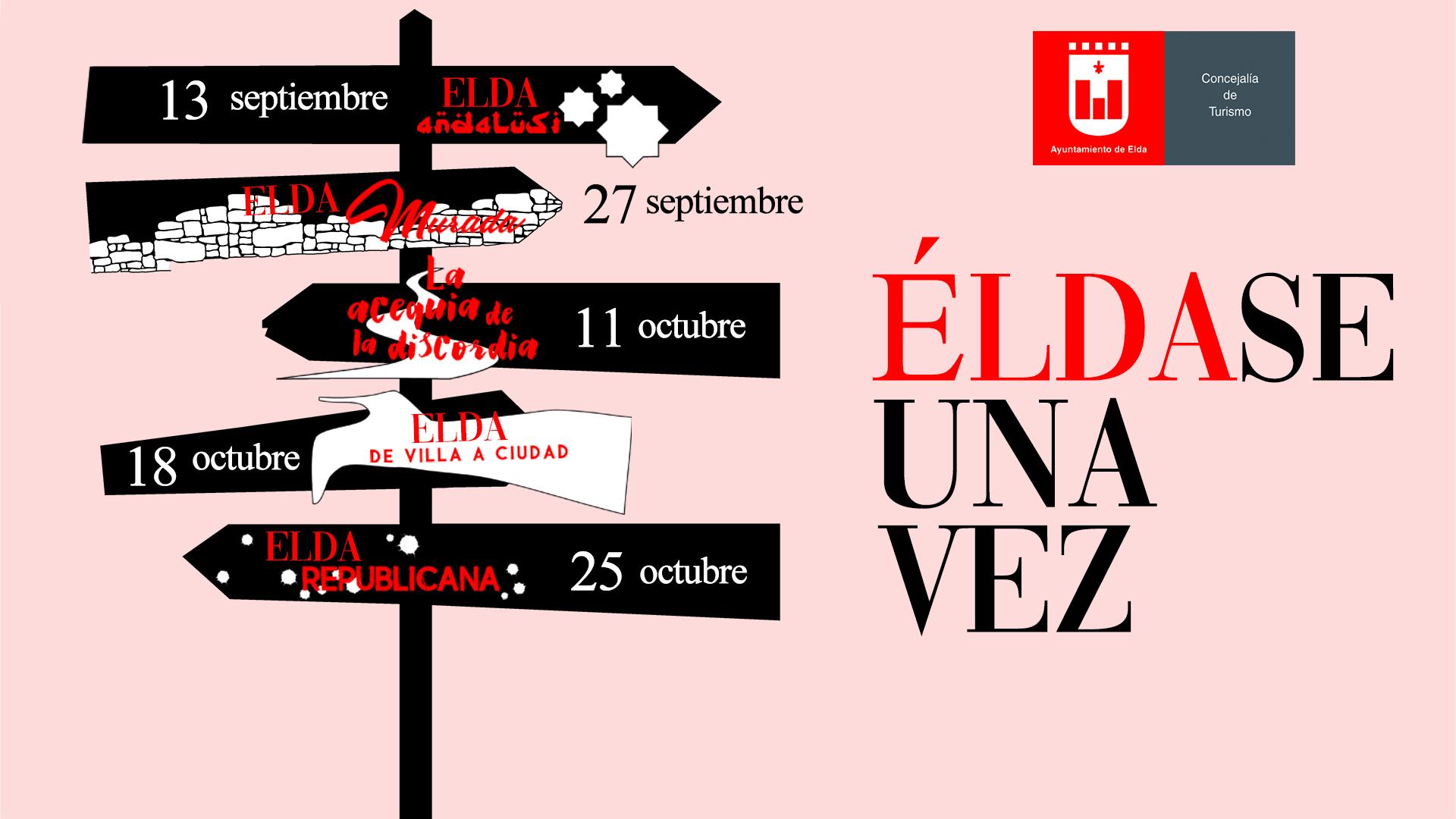 Turismo pone en marcha la quinta edición de las rutas 'Éldase una vez' que permiten conocer la evolución histórica de la ciudad