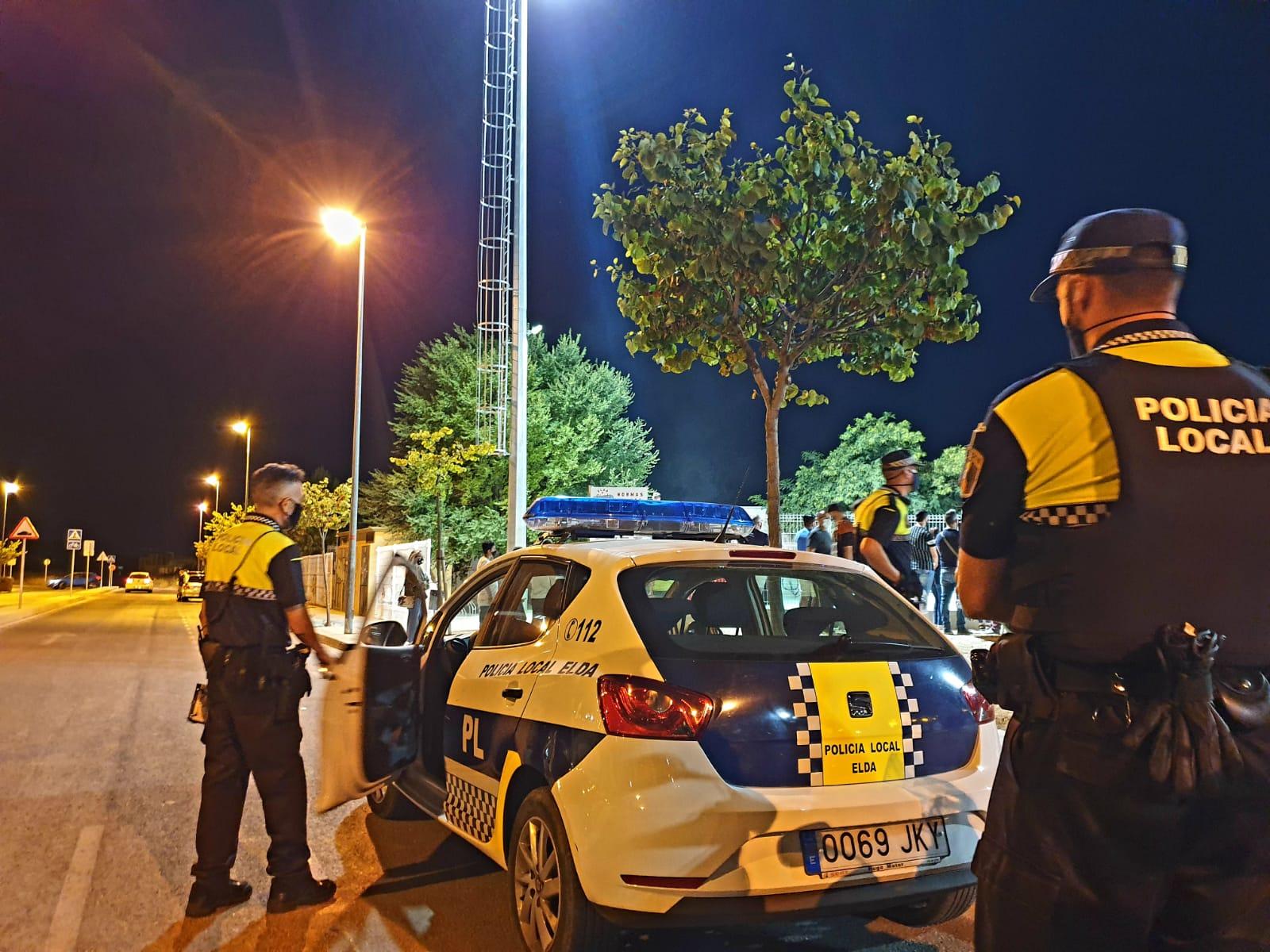 La Policía Local de Elda pone en marcha una campaña de control del ruido que emiten motocicletas y ciclomotores
