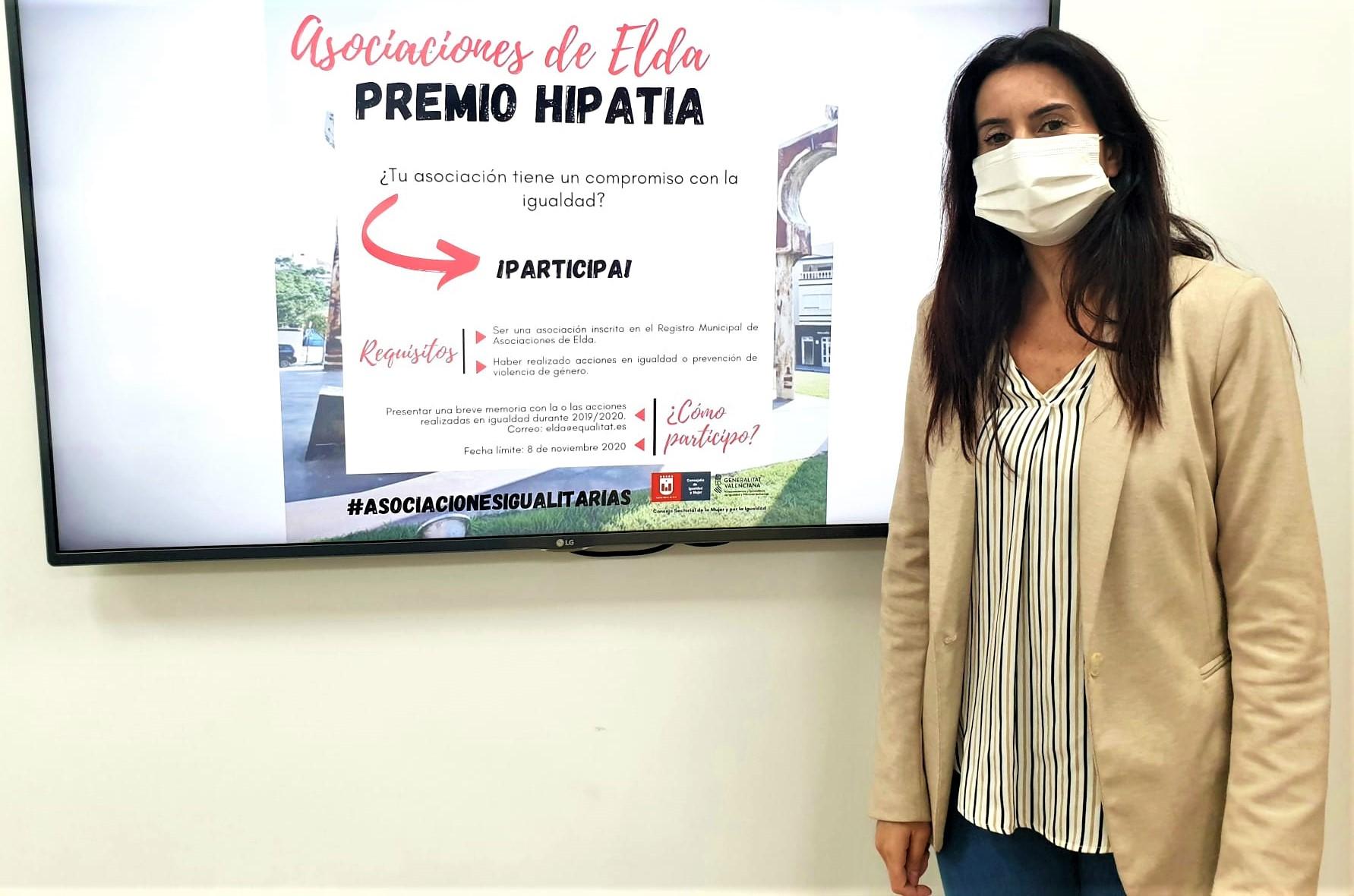 El Ayuntamiento pone en marcha el Premio Hipatia para reconocer a las asociaciones de Elda que promueven la igualdad y la prevención de la violencia machista