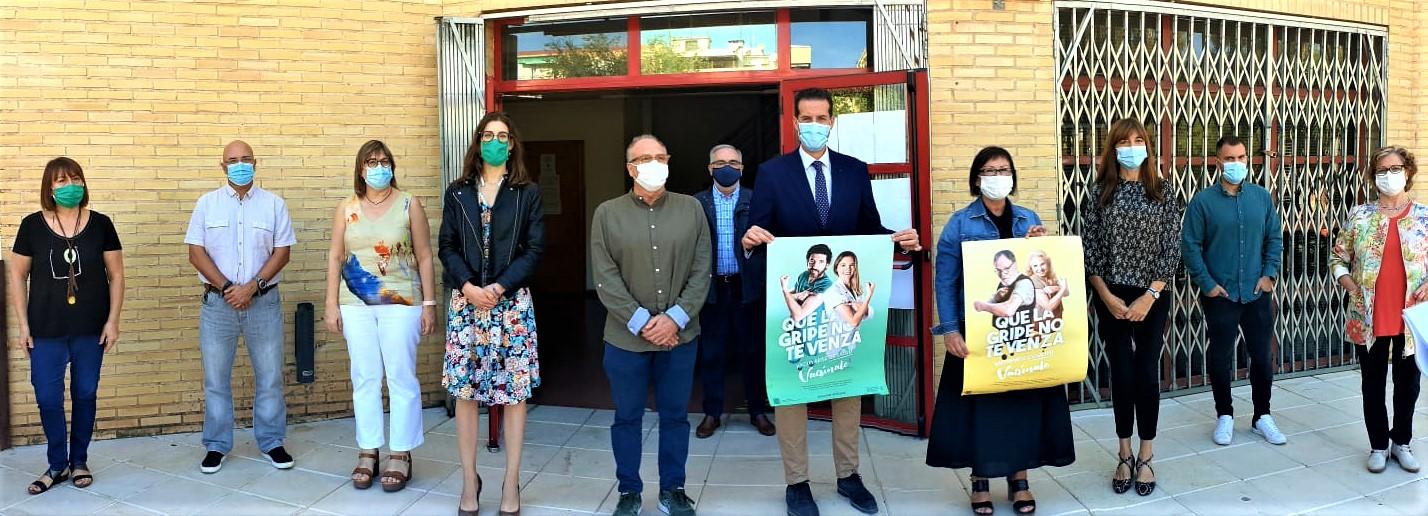 El Ayuntamiento de Elda y Sanidad hacen un llamamiento a los ciudadanos y ciudadanas eldenses para que se vacunen contra la gripe