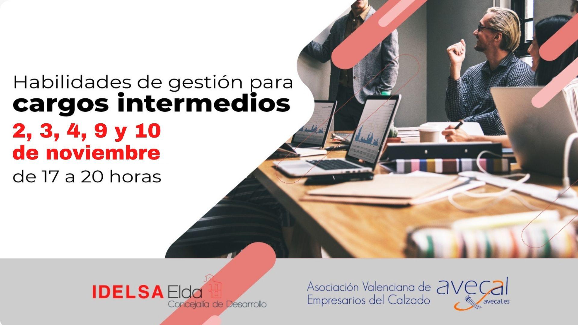 Fomento Económico y Avecal organizan una segunda edición del curso de formación para cargos intermedios de la industria del calzado