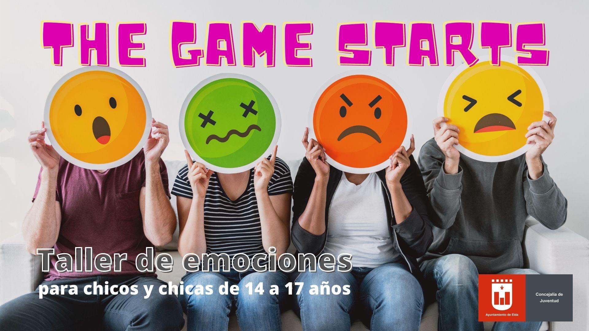 Juventud ofrece el curso 'The Game Starts' para ayudar a jóvenes de 13 a 17 años a controlar sus emociones a través de juegos