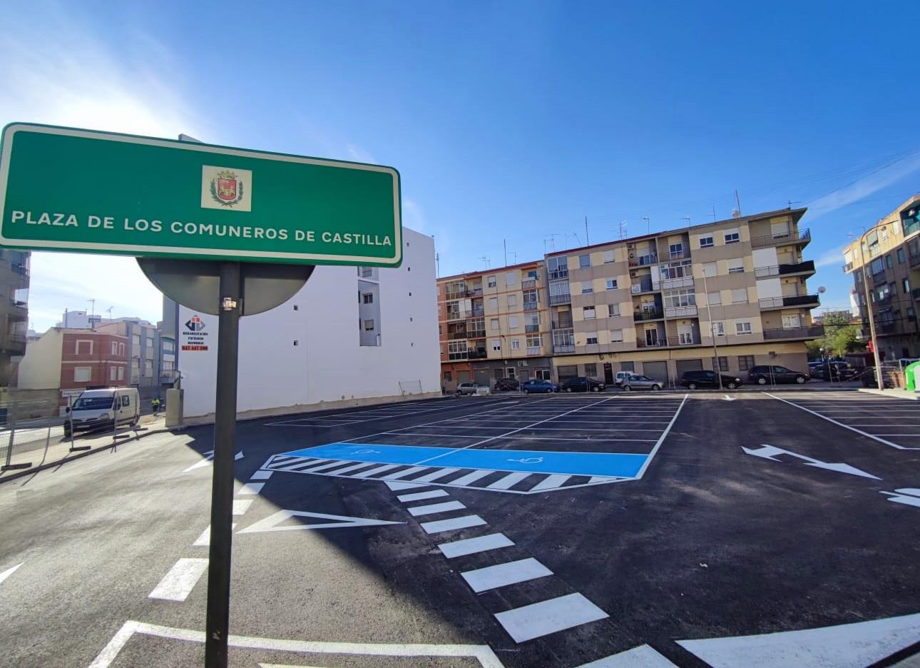 El nuevo aparcamiento municipal habilitado en el antiguo depósito de vehículos de la calle La Cruz entrará en funcionamiento en los próximos días