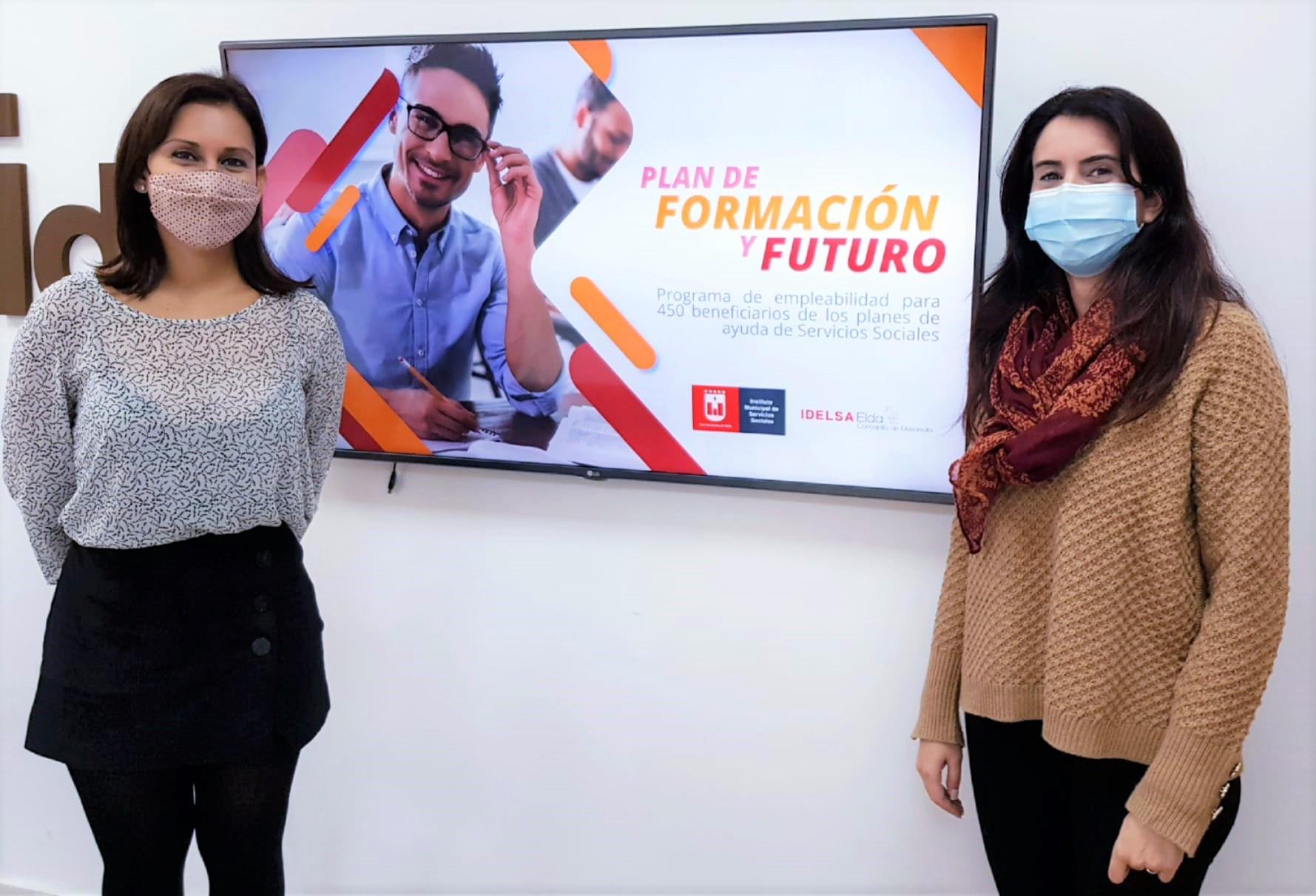 El Ayuntamiento de Elda pondrá en marcha en 2021 un nuevo Plan de Formación y Futuro para personas afectadas por la pandemia tras el éxito del organizado este año