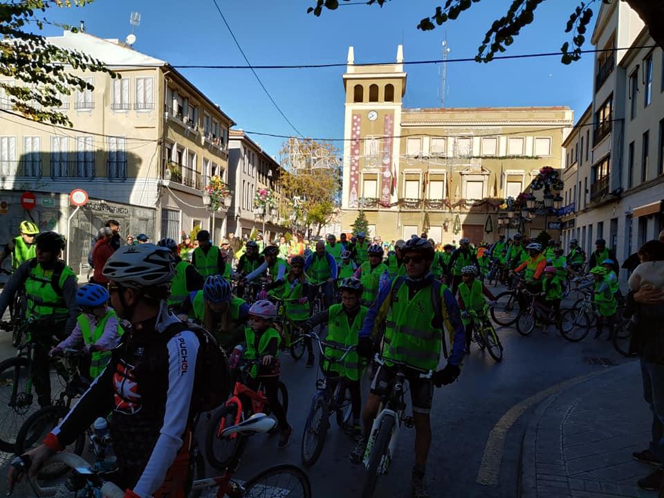 Suspendida la marcha popular de bicicletas prevista para el Día de la Constitución