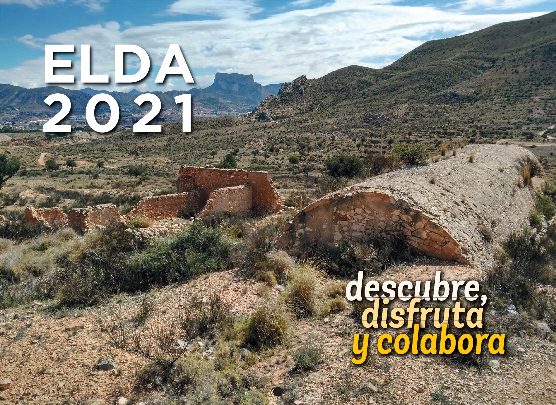 La Concejalía de Medio Ambiente edita y distribuye el calendario 2021 'Elda, descubre, disfruta y colabora'