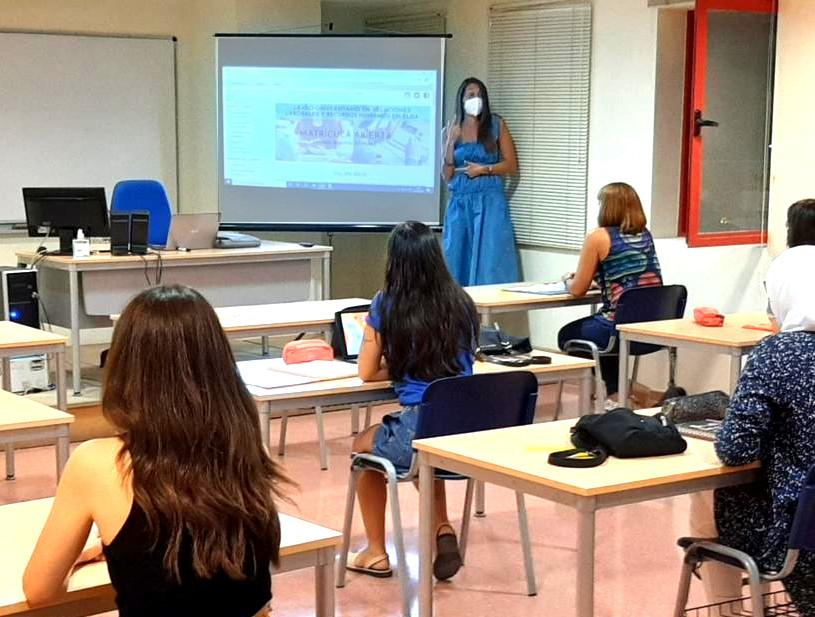 La EURLE reanuda las clases presenciales tras impartirlas online durante el confinamiento  de Elda y Petrer