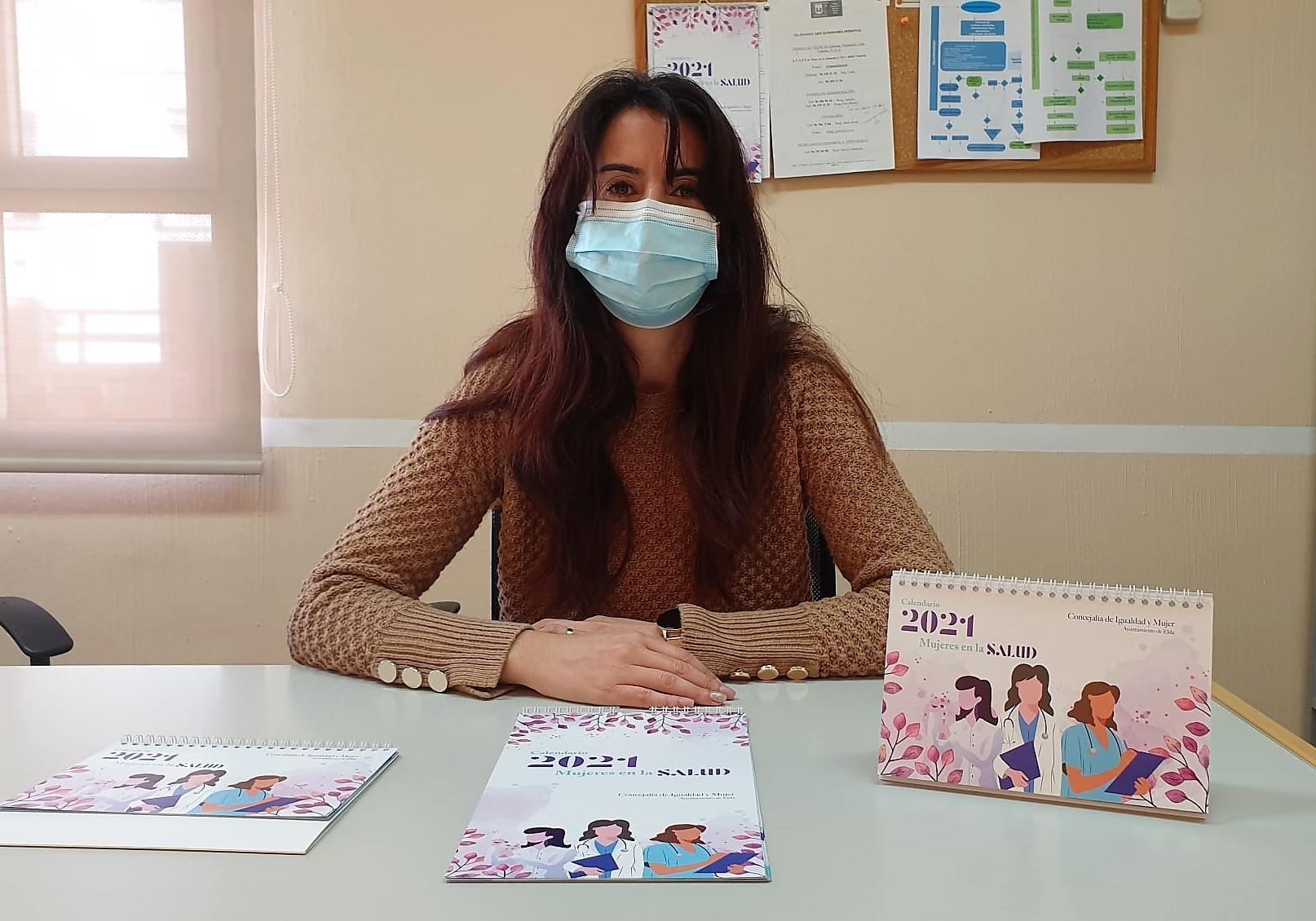 La Concejalía de Igualdad lanza un calendario para 2021 con el objetivo de dar visibilidad a las mujeres que trabajan en el ámbito sanitario