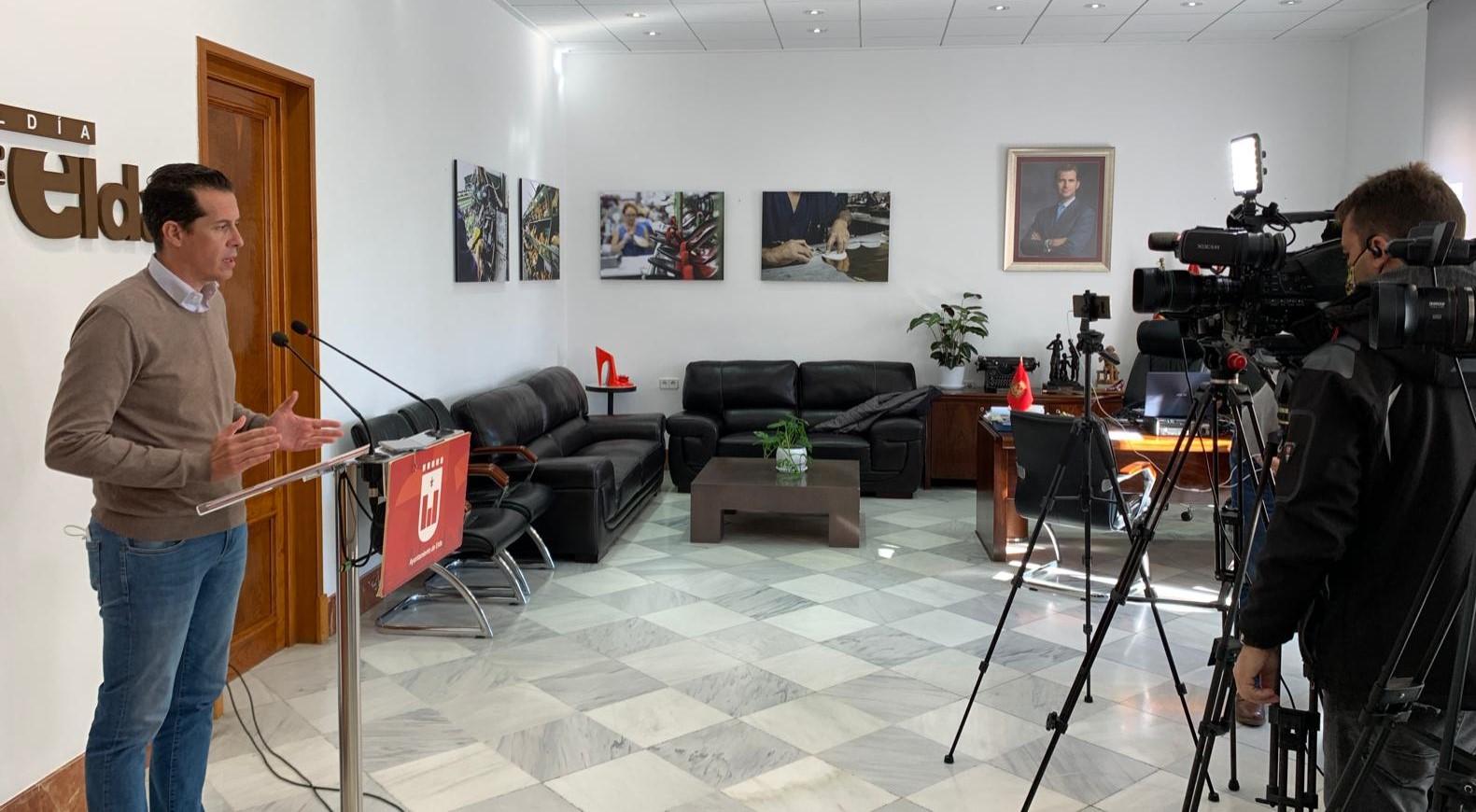 Rubén Alfaro pide prudencia a la ciudadanía tras anunciarse el levantamiento del confinamiento perimetral de Elda y Petrer