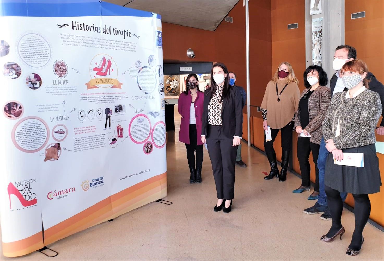 El Museo del Calzado de Elda es el primero de la provincia que cuenta con la instalación de la visita autoguiada 'Made in Costa Blanca'
