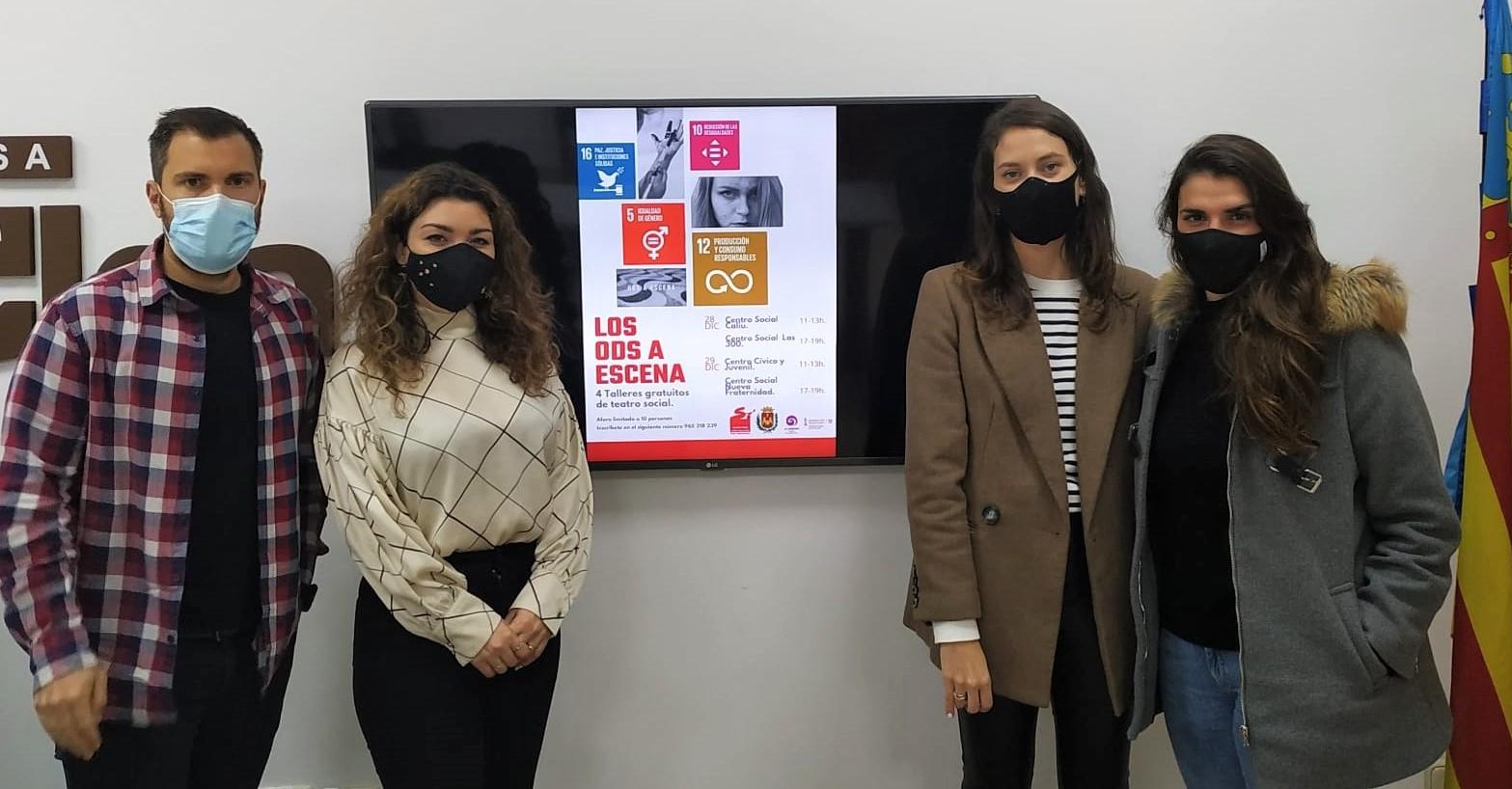 El Ayuntamiento de Elda organiza unos talleres de teatro para difundir los ODS y la Agenda 2030 entre la juventud de la ciudad
