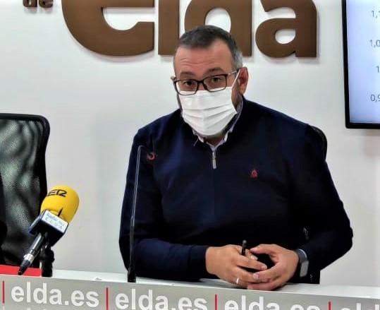 El Ayuntamiento de Elda solicita cerca de 300.000 euros a la Diputación de Alicante para renovar la red de saneamiento y el pavimento del Paseo de la Mora