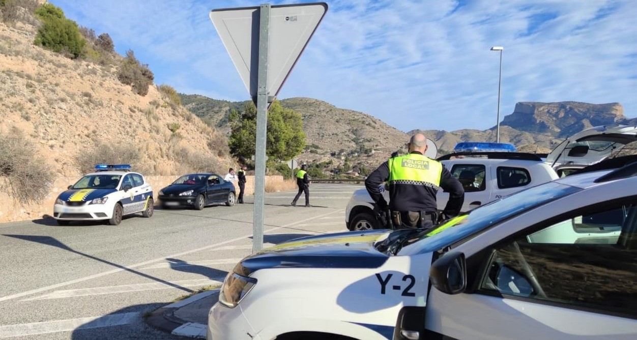 La Policía Local levanta 22 actas de sanción por infracciones relacionadas con el confinamiento durante el fin de semana