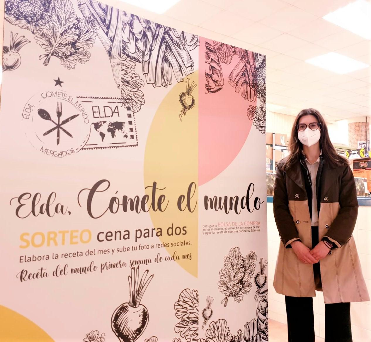 El Ayuntamiento de Elda pone en marcha la campaña 'Cómete el mundo' para respaldar e impulsar la restauración y el comercio eldense