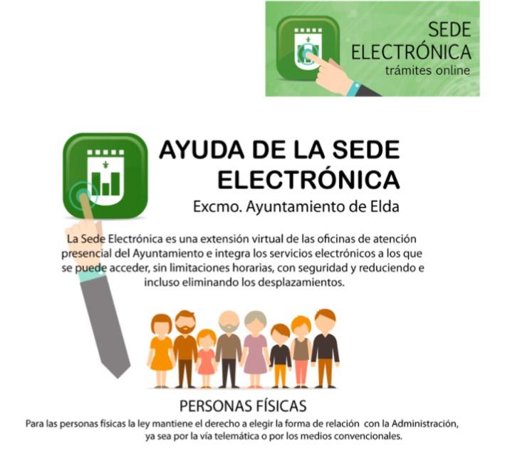 El 69% de los trámites realizados en el Registro del Ayuntamiento de Elda durante 2020 se realizaron de manera telemática o por canales no presenciales