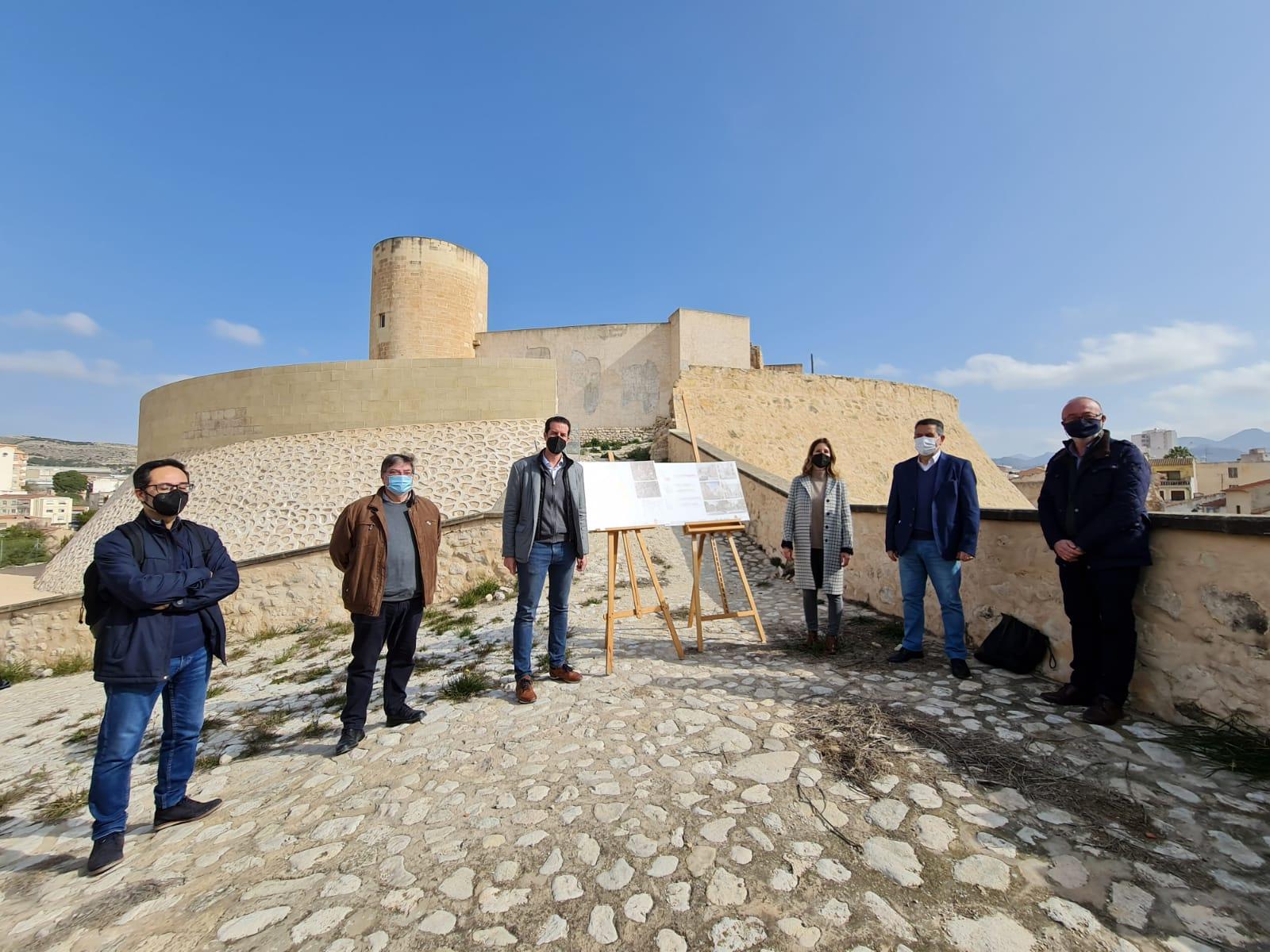 El Ayuntamiento pone en marcha el Plan Especial de Protección y Conservación del Castillo de Elda como instrumento urbanístico para la ordenación de todo su entorno
