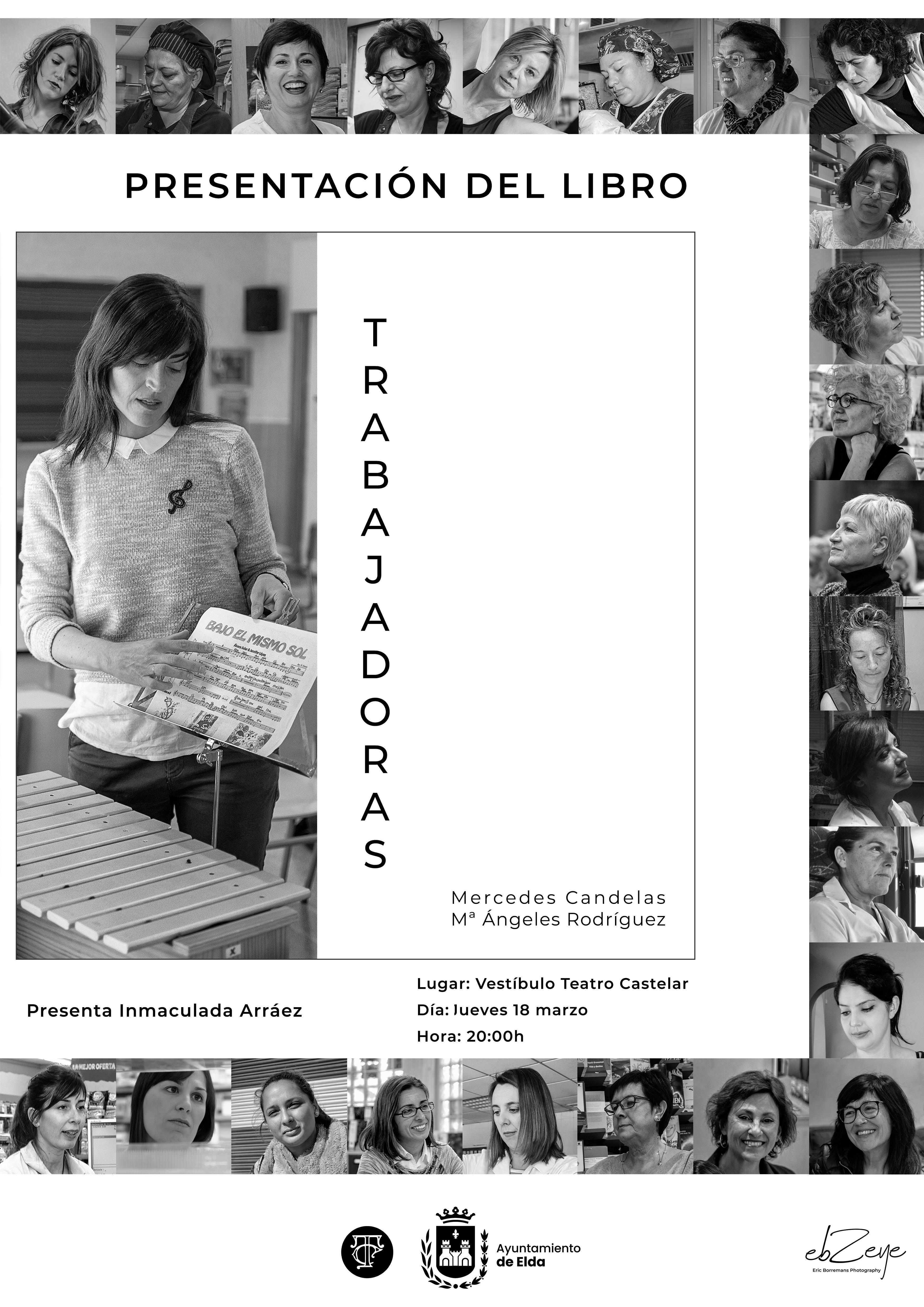 La Concejalía de Cultura presenta un libro que recopila imágenes y poemas de la exposición fotográfica 'Trabajadoras'