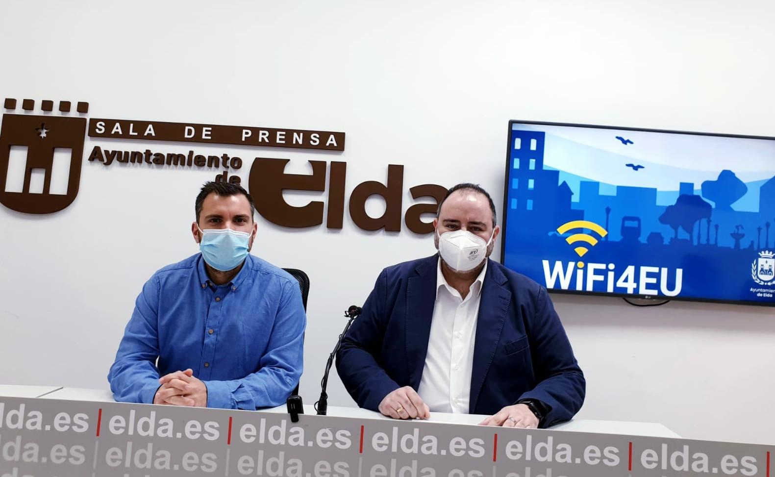 El Ayuntamiento de Elda abre un proceso de participación para que la ciudadanía elija las plazas en las que se instalará wifi gratuito