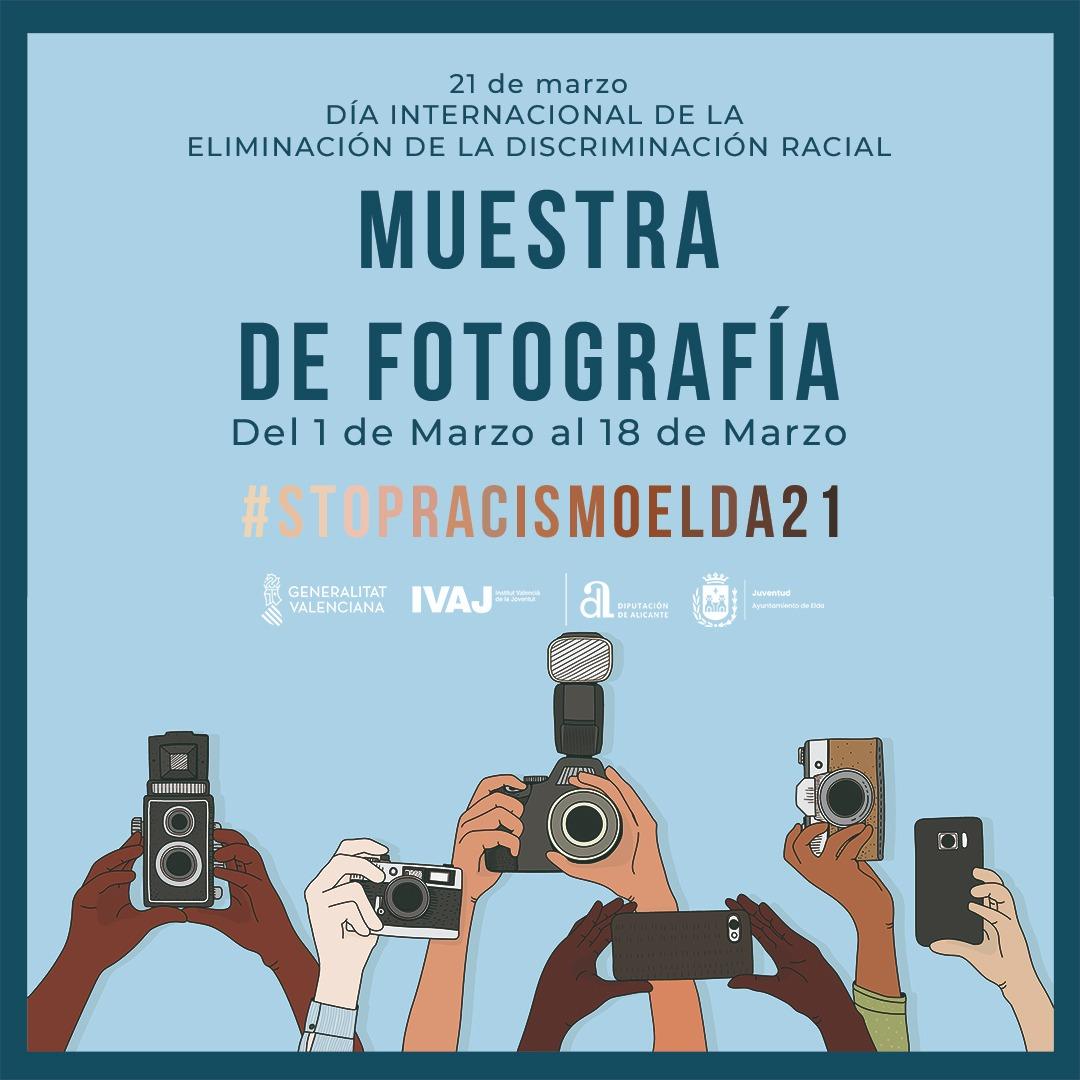 La concejalía de Juventud  organiza una muestra fotográfica  para celebrar el Día Internacional de la eliminación de la Discriminación Racial