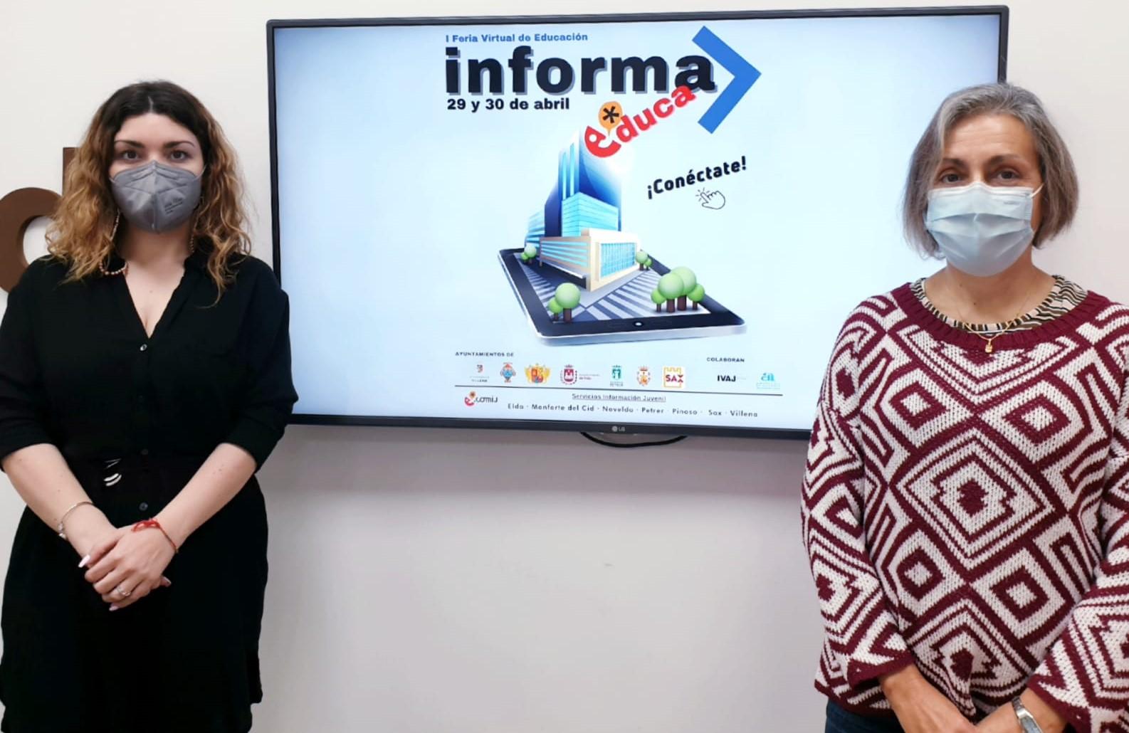 Siete municipios del Vinalopó organizan la primera feria virtual de información  educativa y laboral de la Comunidad Valenciana