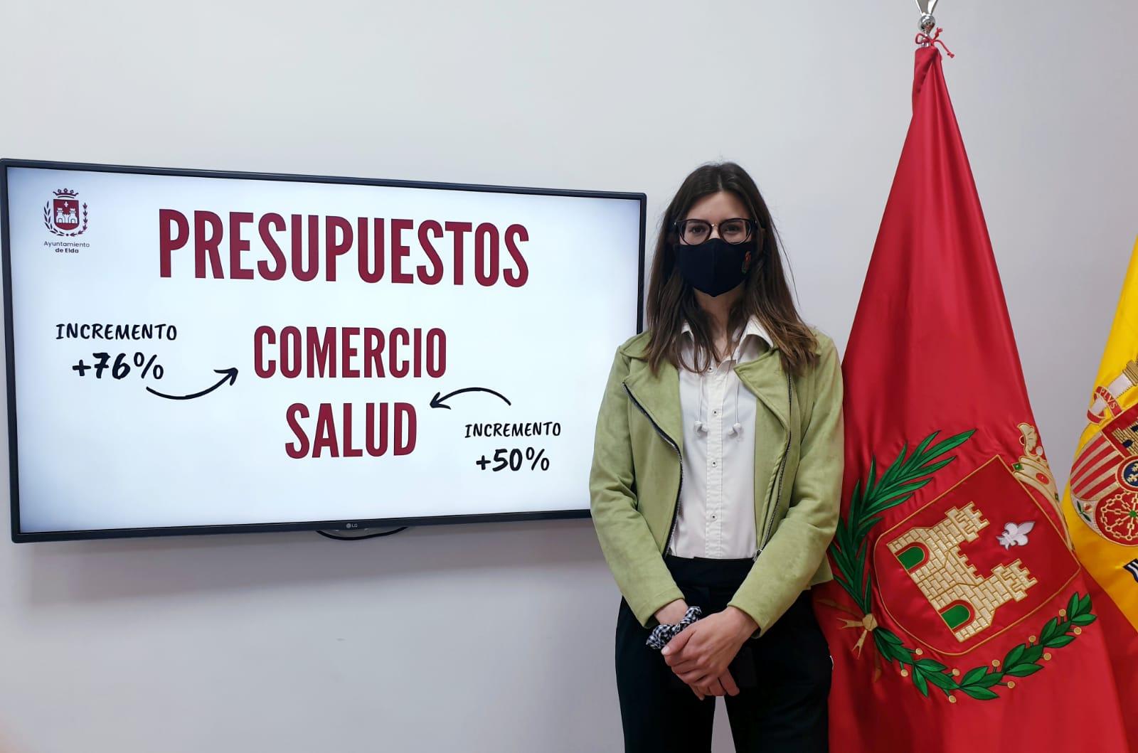 El Ayuntamiento de Elda incrementa en un 76% el presupuesto de la Concejalía de Comercio y Mercados para el presente ejercicio