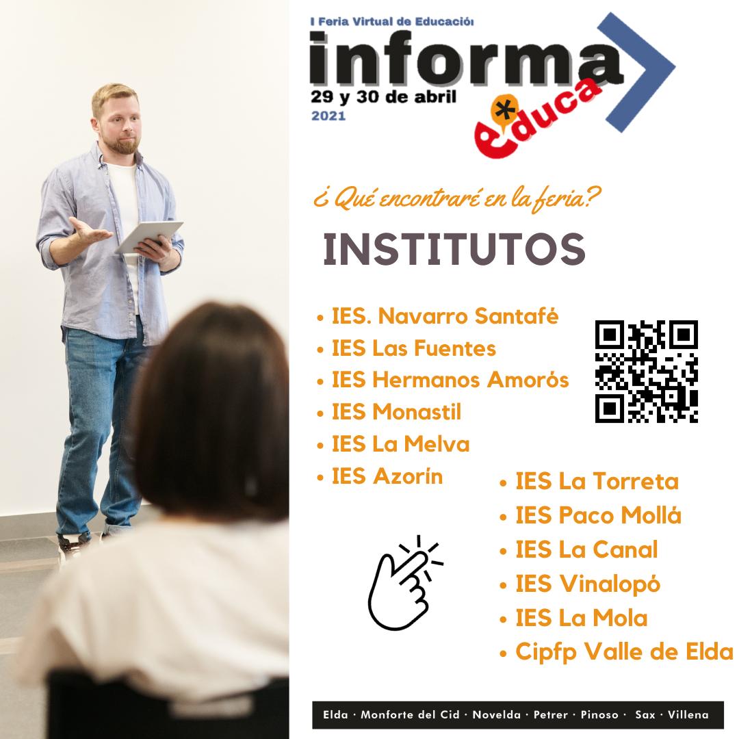 Imagen promoción de Institutos