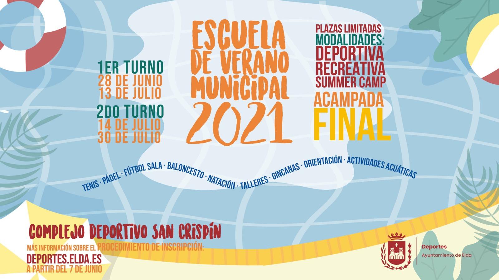 Un total de 600 niñas y niños podrán acceder a la Escuela Municipal de Verano, que tendrá inscripción online