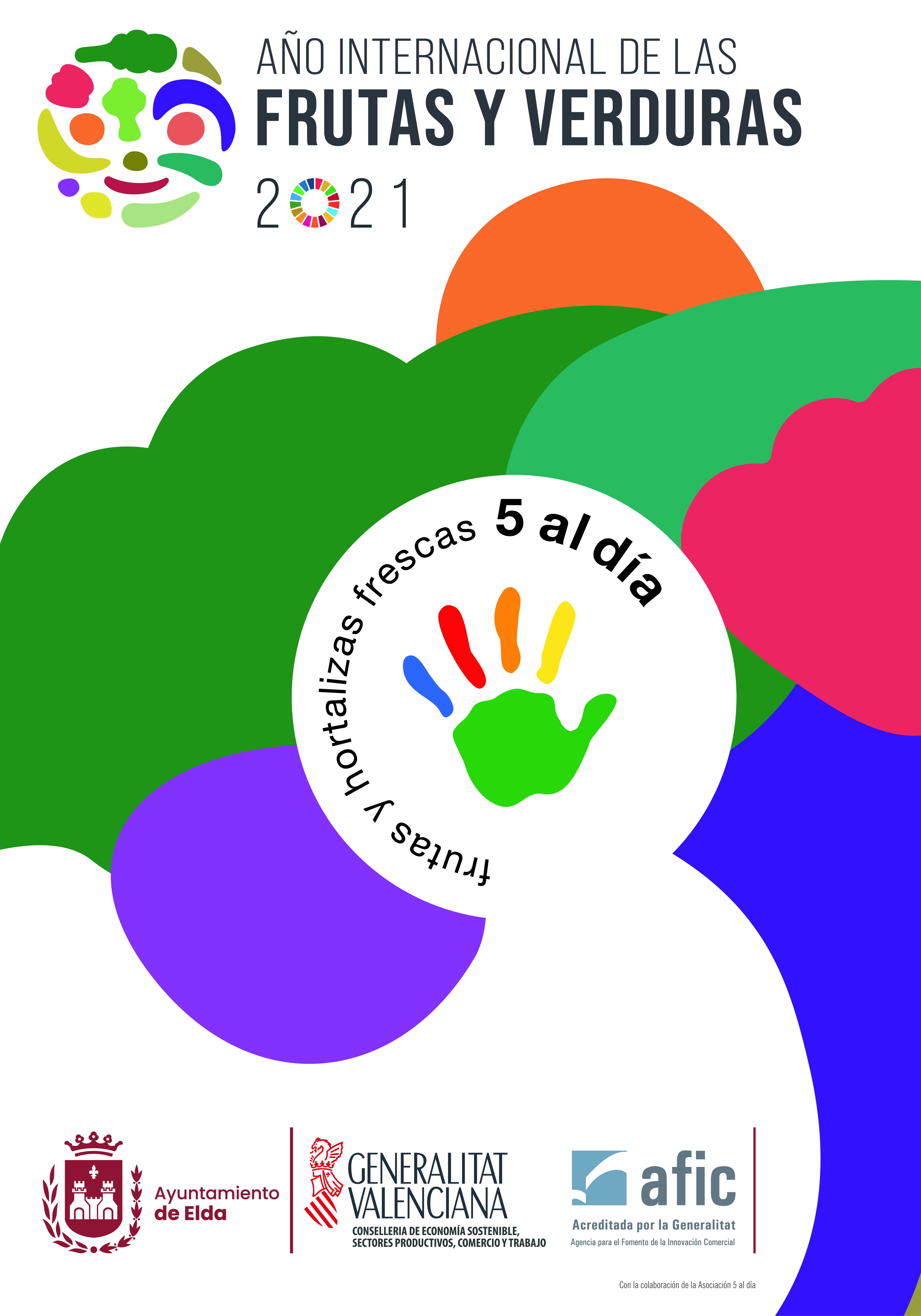 El Ayuntamiento de Elda inicia una campaña para fomentar el consumo de frutas y verduras frescas