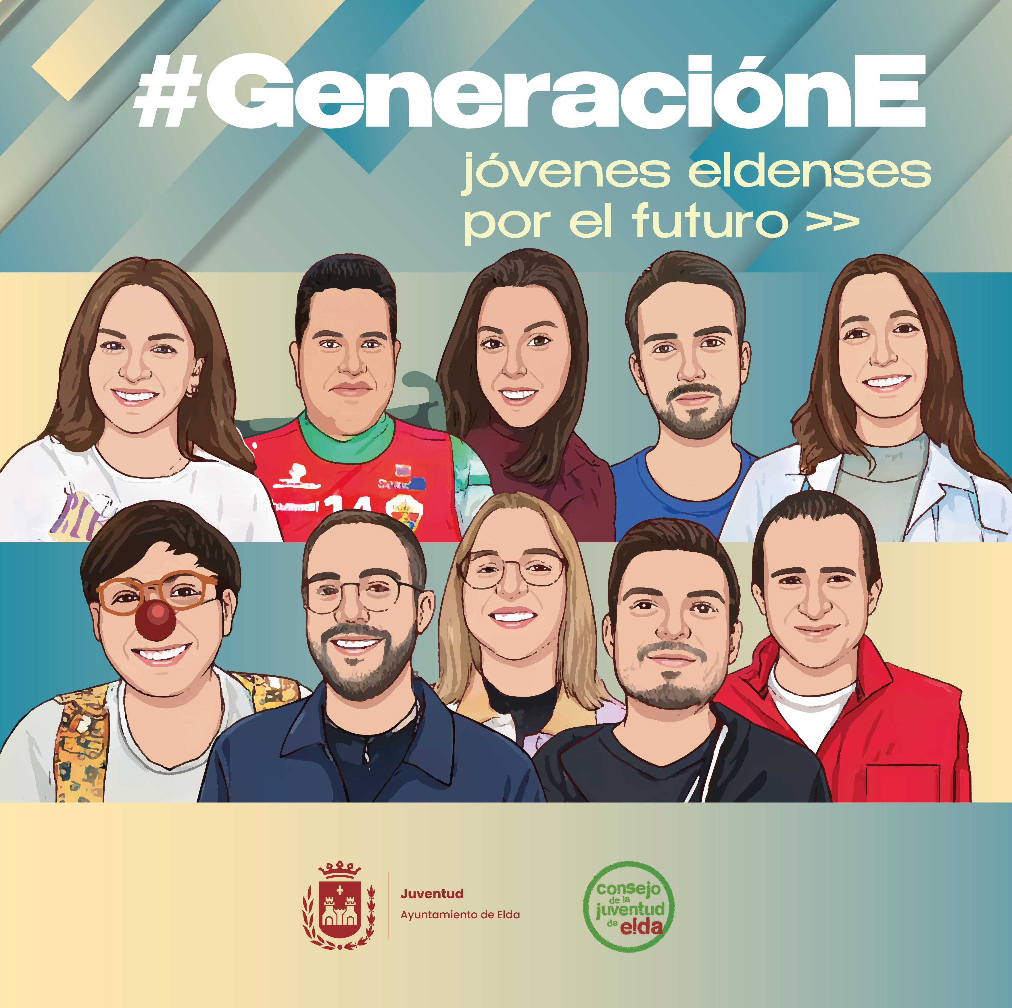 El Ayuntamiento de Elda pone en marcha una campaña con el objetivo de promover la participación de la juventud en el tejido asociativo de la ciudad