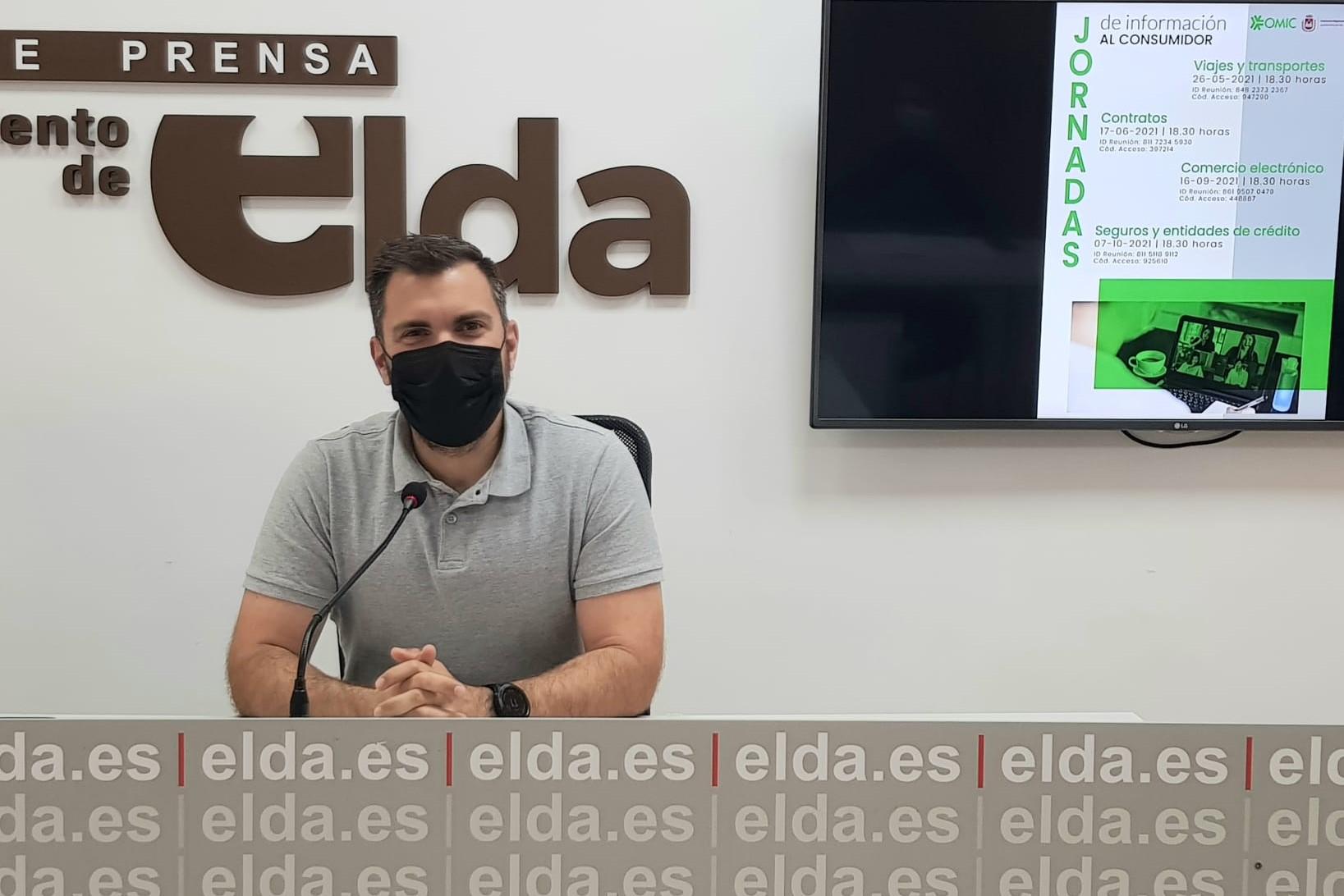 El Ayuntamiento de Elda organiza unas jornadas con ponencias informativas y participativas para impulsar el consumo sostenible