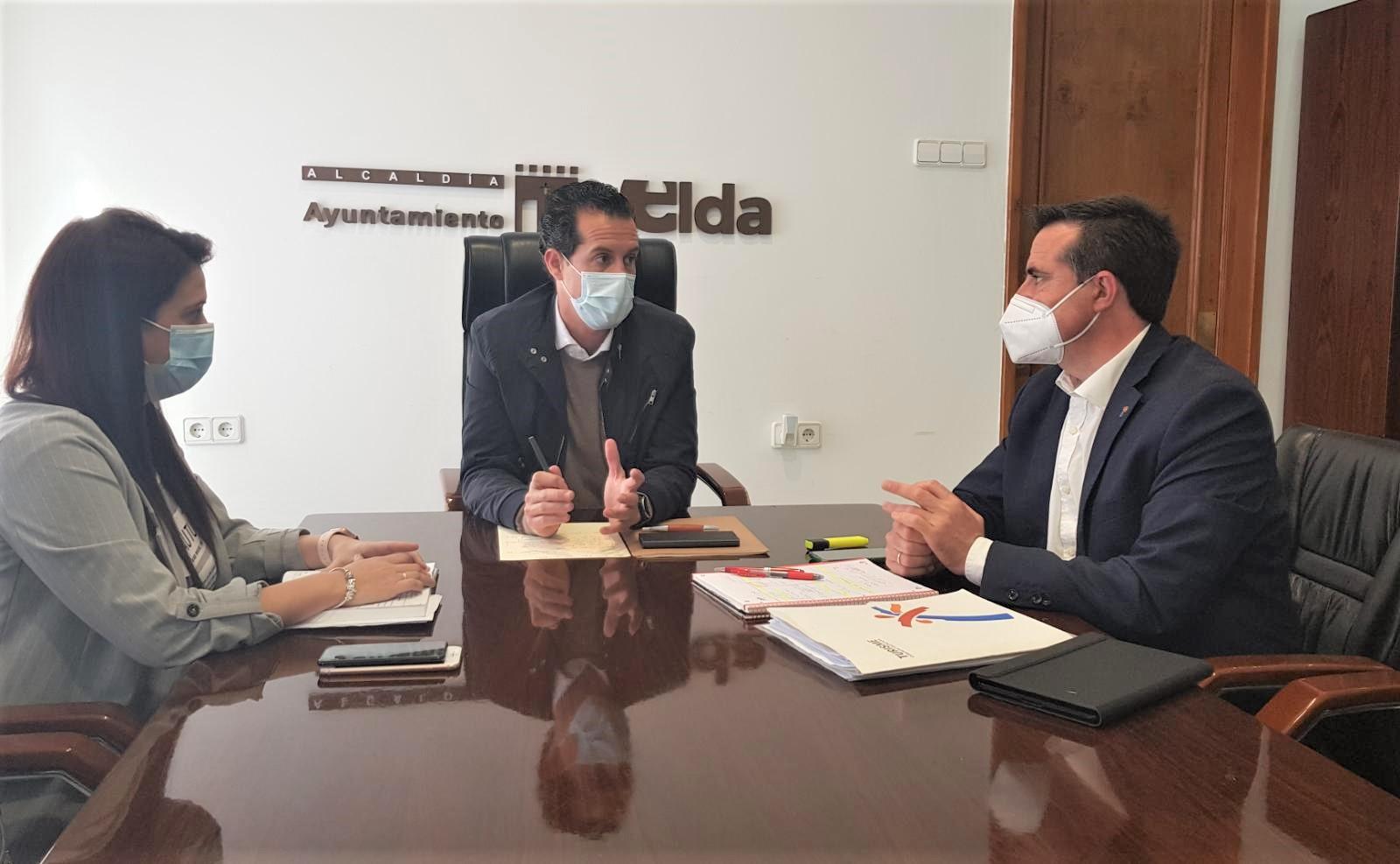 El alcalde de Elda y el director general de Turismo sientan las bases del Plan de Sostenibilidad Turística del Vinalopó que ayudará a la recuperación tras la pandemia