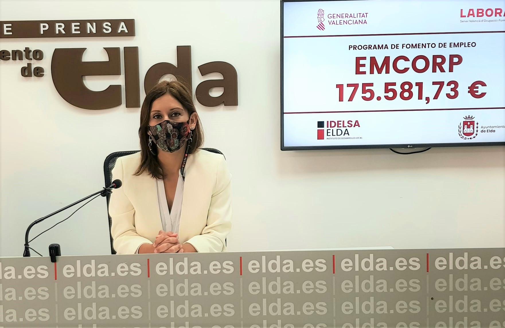 El Ayuntamiento de Elda contratará a doce personas durante un periodo de seis meses con los fondos EMCORP 2021 de la Generalitat