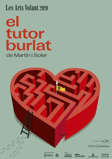 La Plaza Castelar acoge este domingo el camión escenario de Les Arts Volant para la representación de la ópera 'El tutor burlat'