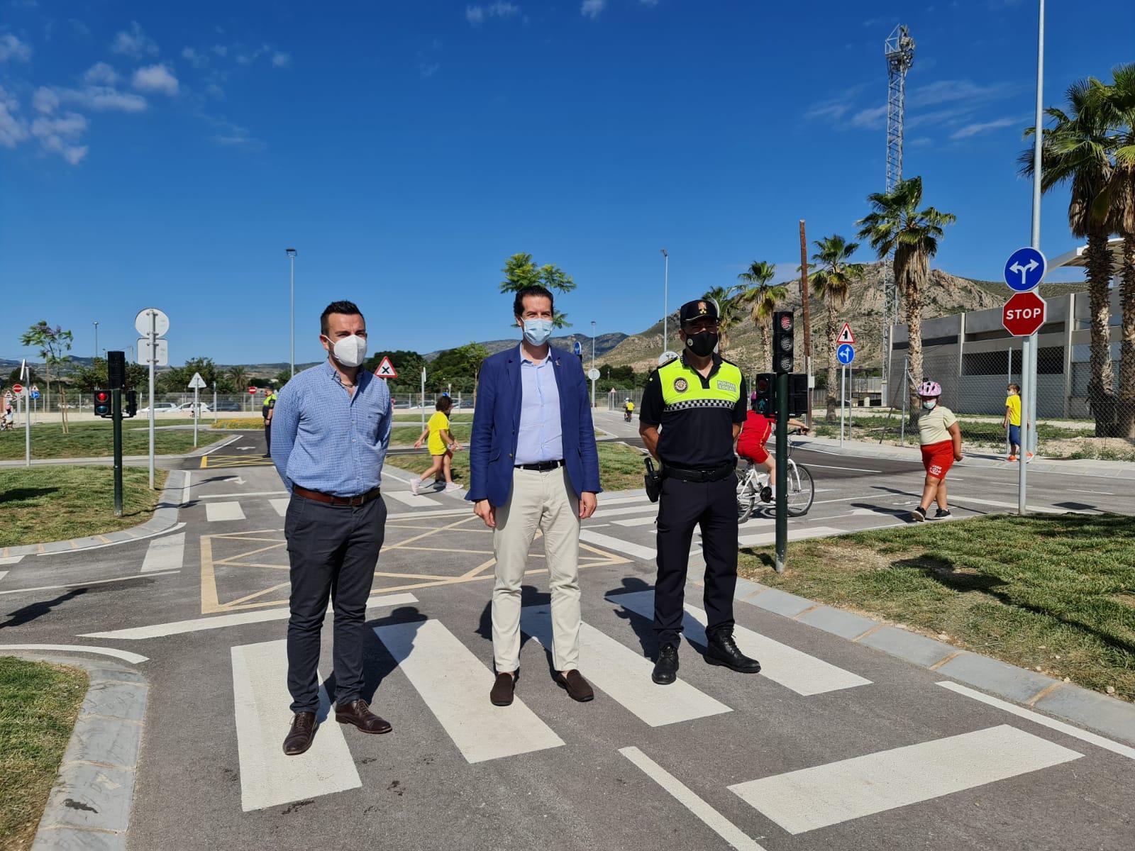 El Ayuntamiento de Elda pone en marcha el nuevo Parque Infantil de Tráfico donde los niños y niñas eldenses recibirán educación vial