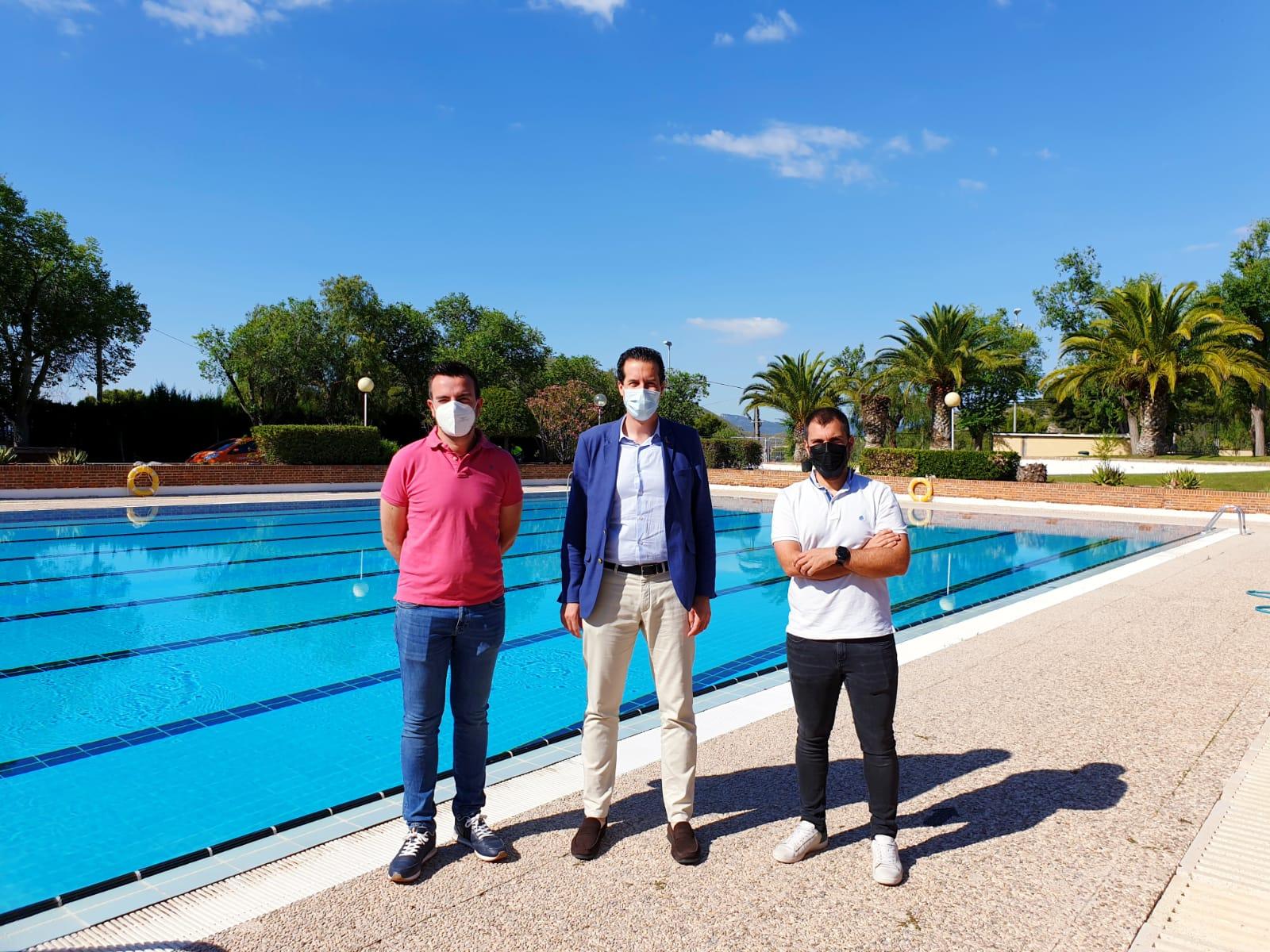 El Ayuntamiento de Elda abre el próximo viernes las piscinas de verano de San Crispín con un aforo de 225 personas