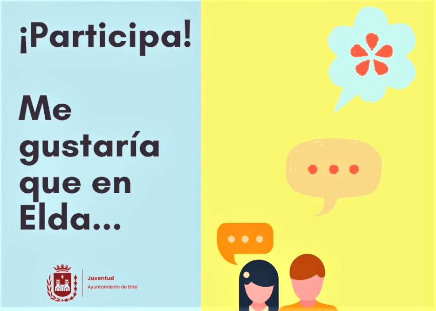 El Ayuntamiento de Elda ofrece un Taller de Participación Juvenil para crear un espacio de intercambio de ideas y opiniones